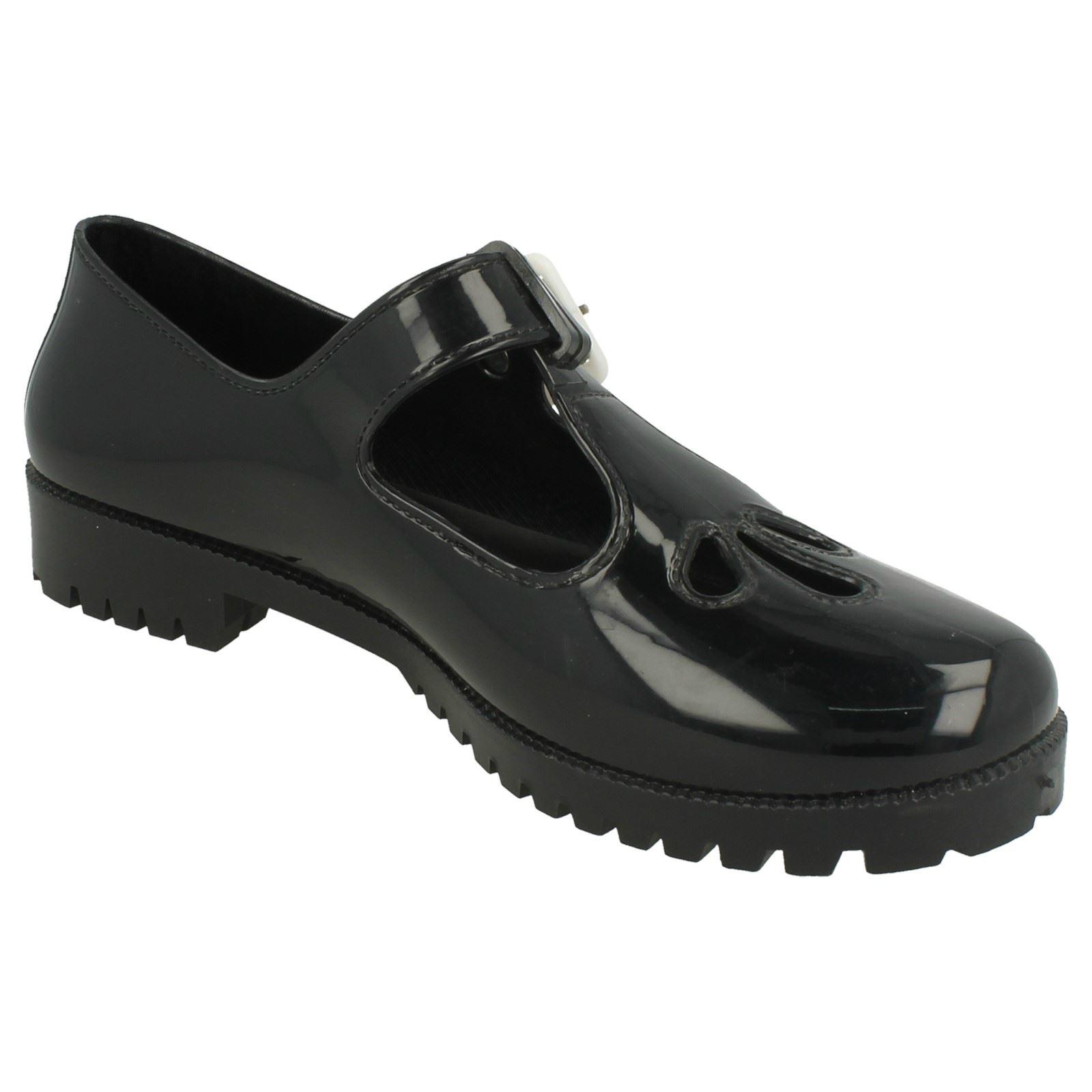 Mujer Zapato puntera de goma Mancha en cerrada F80045