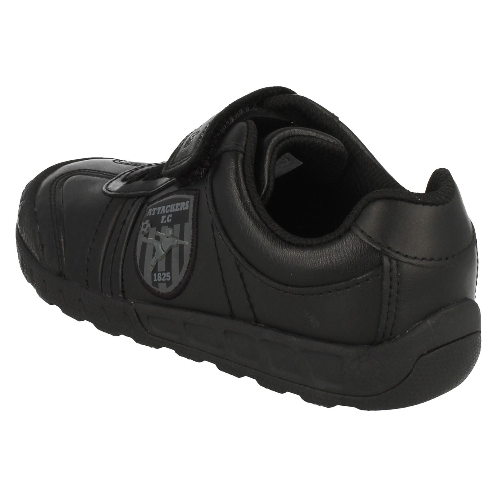 Gioca Clarks Shoes School Black a Boys Leader xqg0wqTF