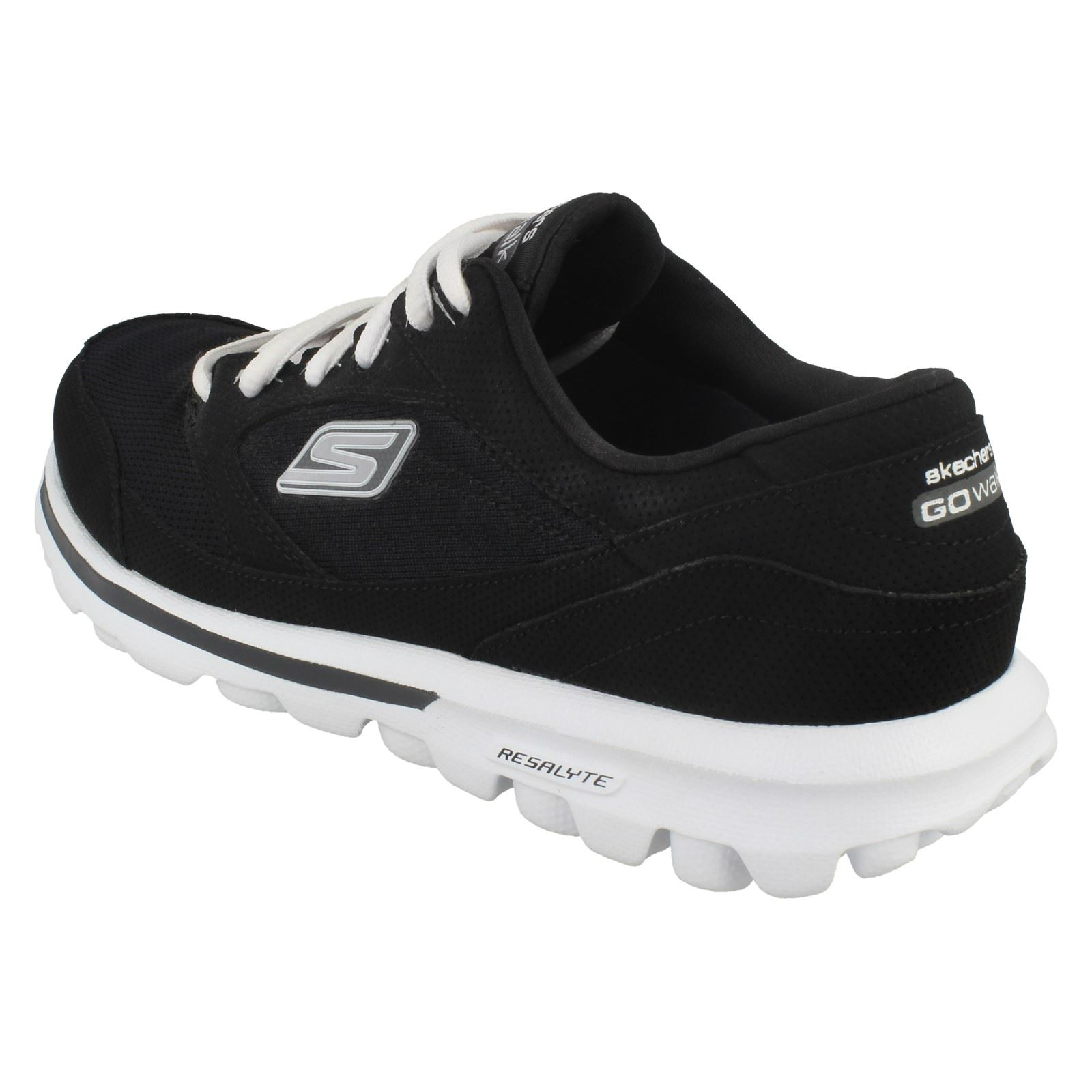 Trainer Baby Active Go Ladies 13569 Walk Nero Skechers nExPW