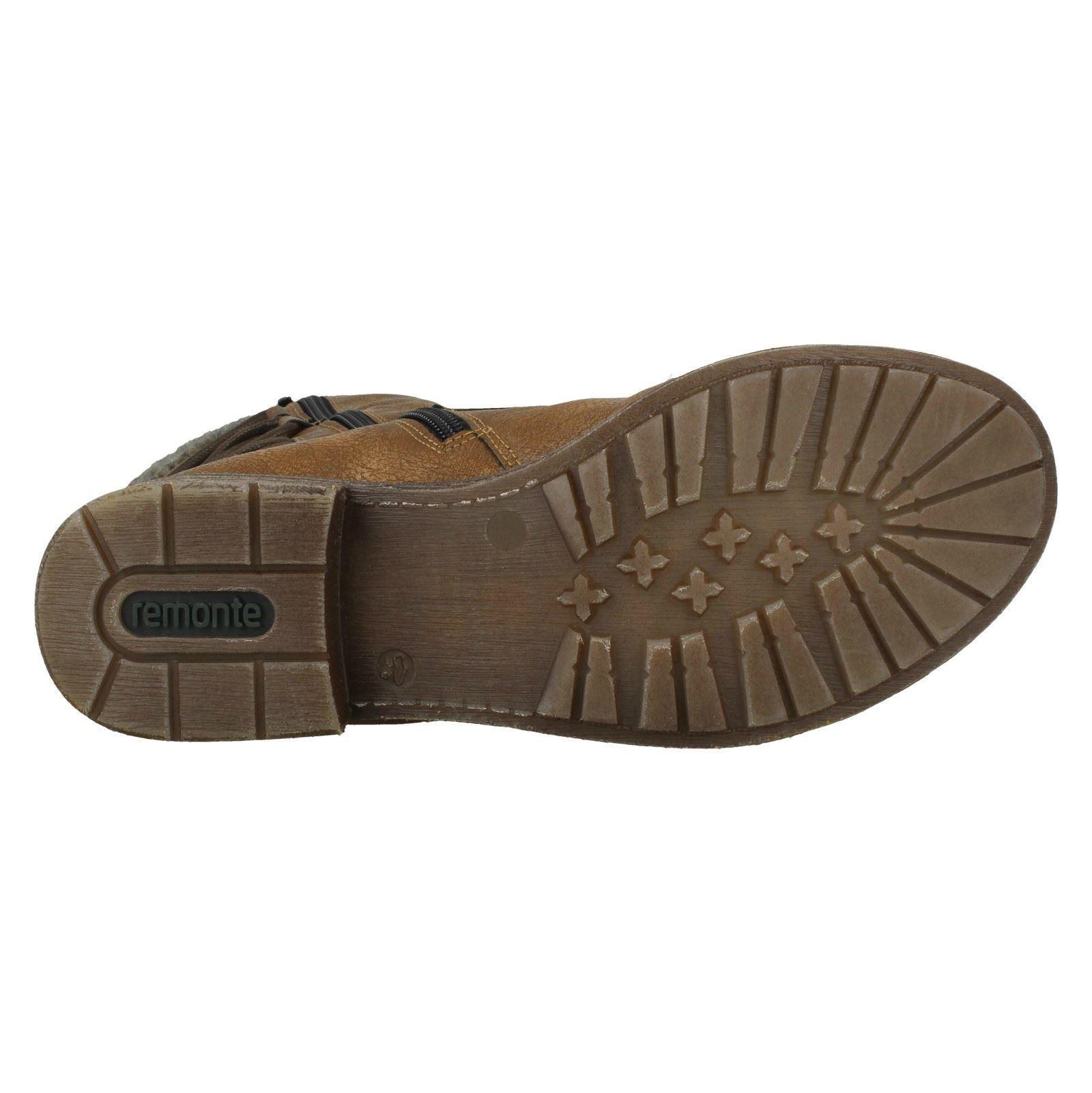 Ladies Remonte Warm Lined Remonte-Tex Boots /'D8070/'