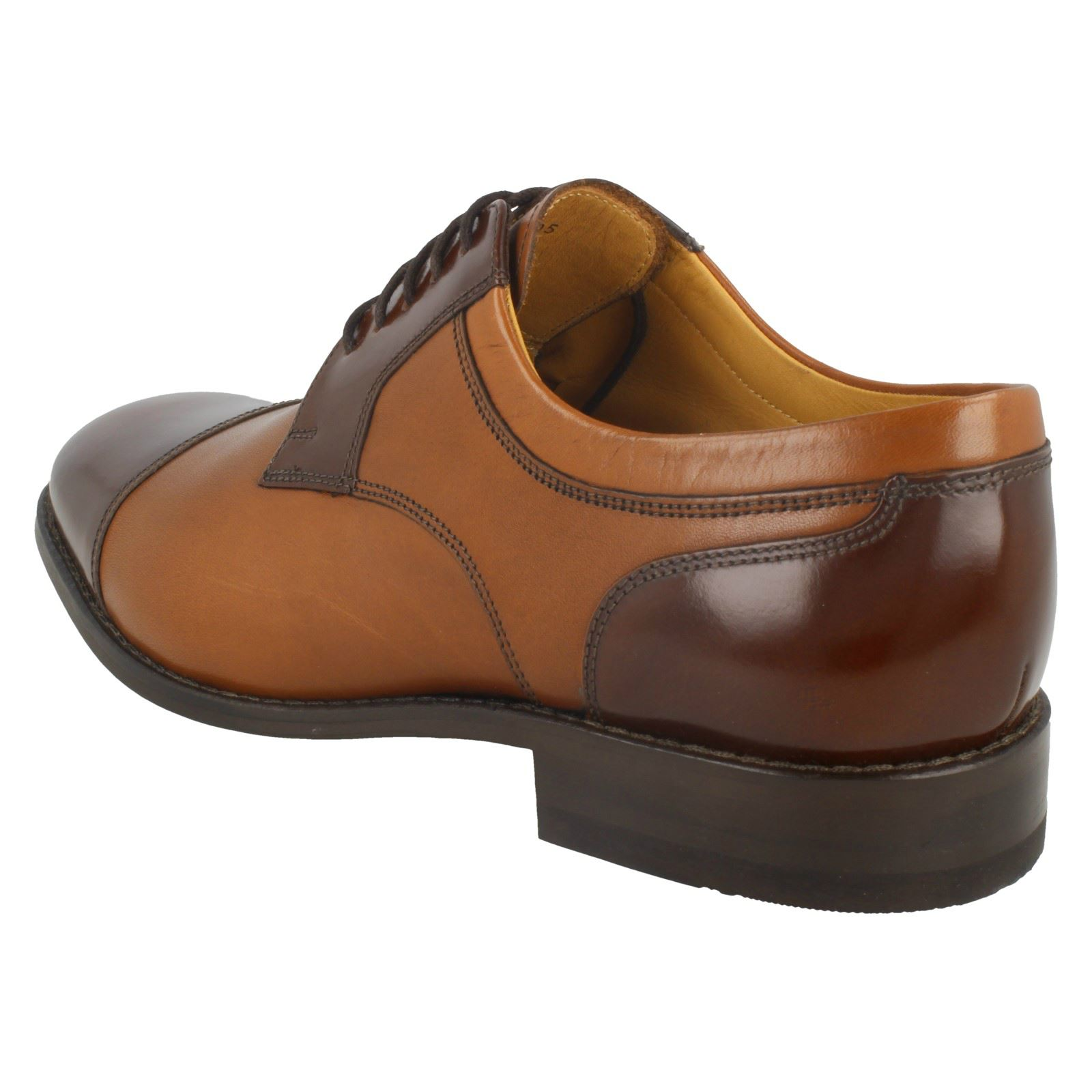 Mens Loake 'Wantage' Extra Wide Smart Lace Up Shoes With Oxford Front