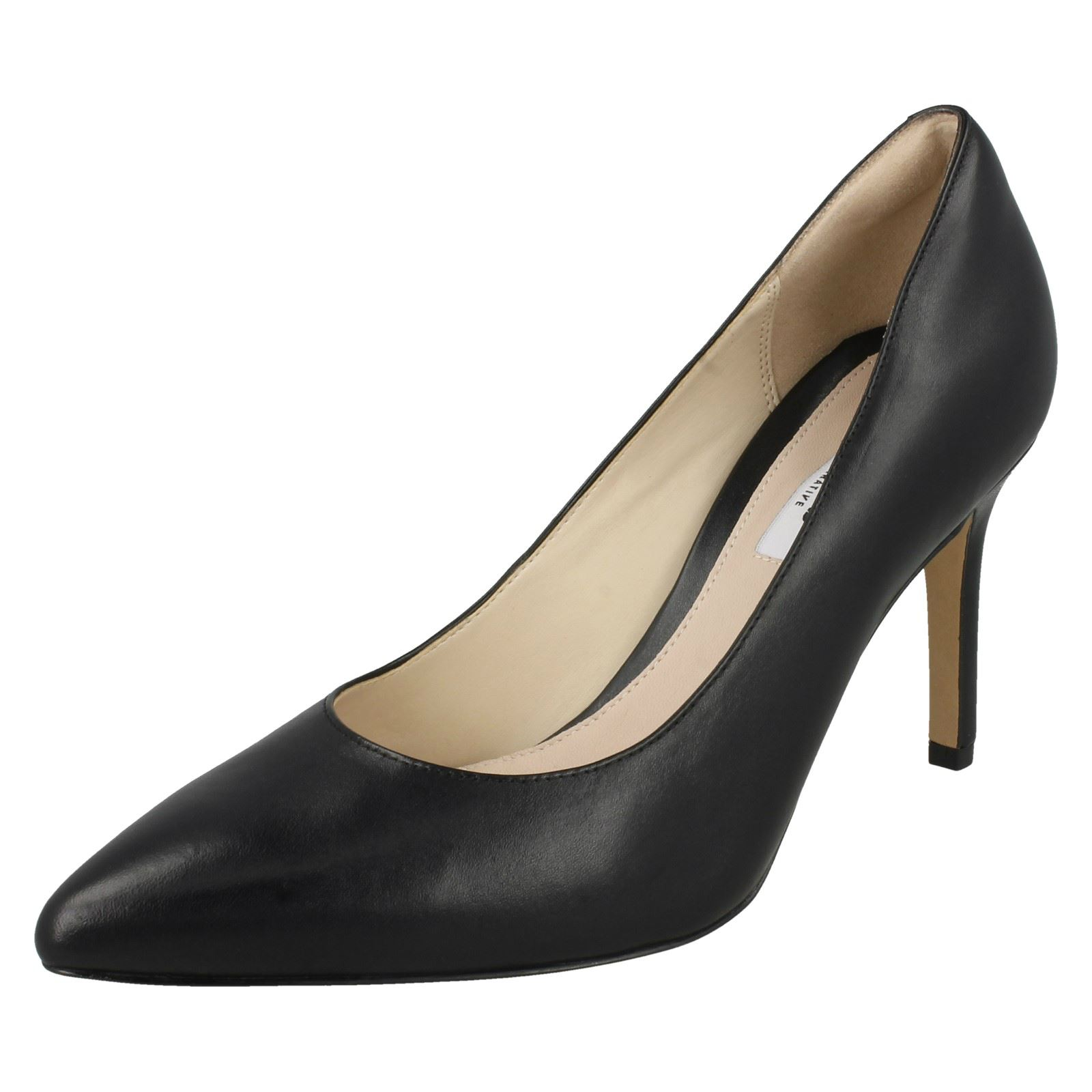 bb30fe3f868d Ladies Clarks High Heel Occasion Shoes Dinah Keer 8uk Black Leather D.  About this product. Picture 1 of 10  Picture 2 of 10 ...