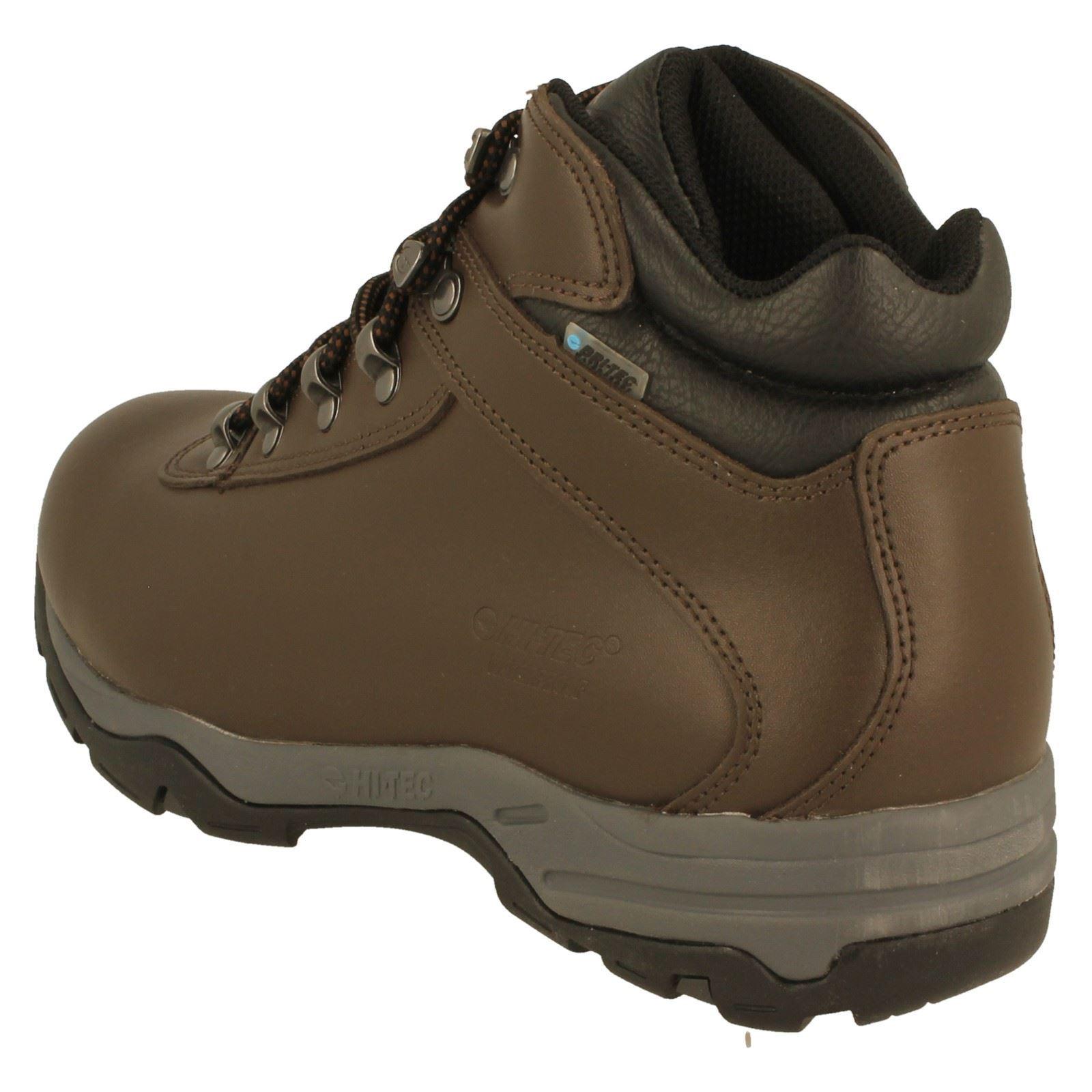 0fb0ab83e00 Details about Men's Hi-Tec Walking Boots 'Eurotrek III WP'