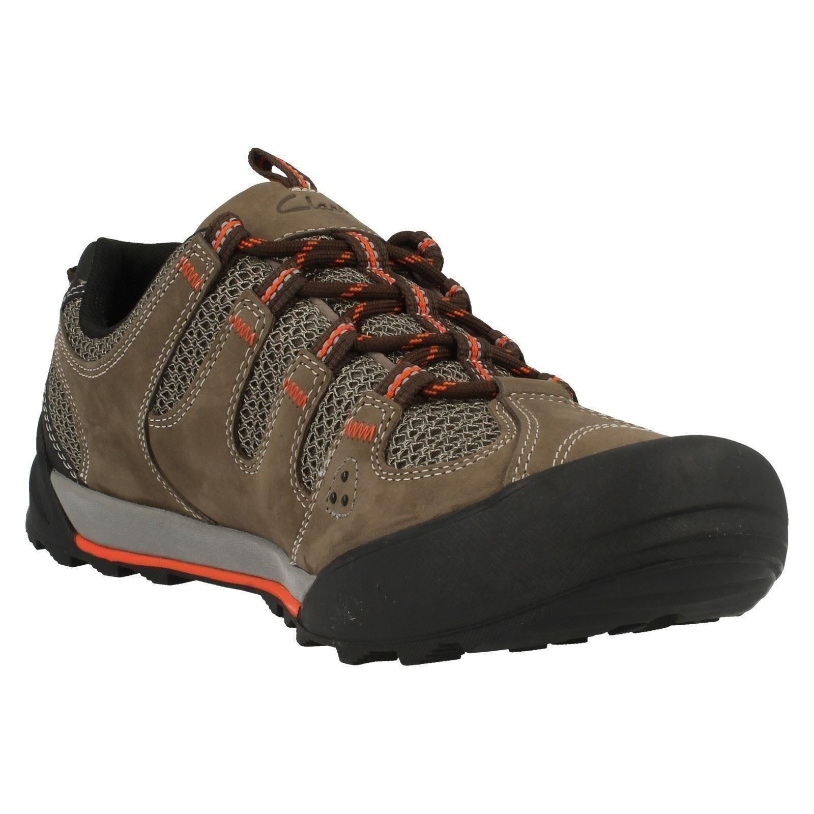 Mens Active Clarks Active Mens Wear Trainers Outlay Compass 387be8