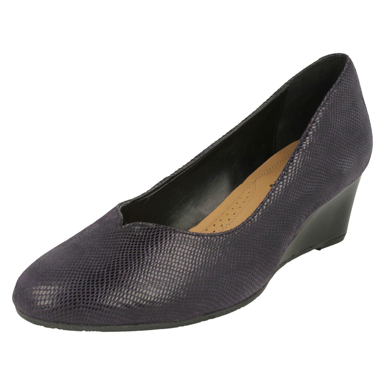 Ladies Van Dal Wedge Heel Shoes