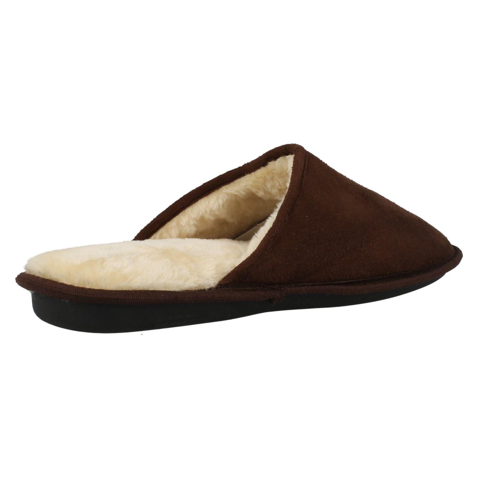 Zapatillas para hombre Memory Foam Plain Mula