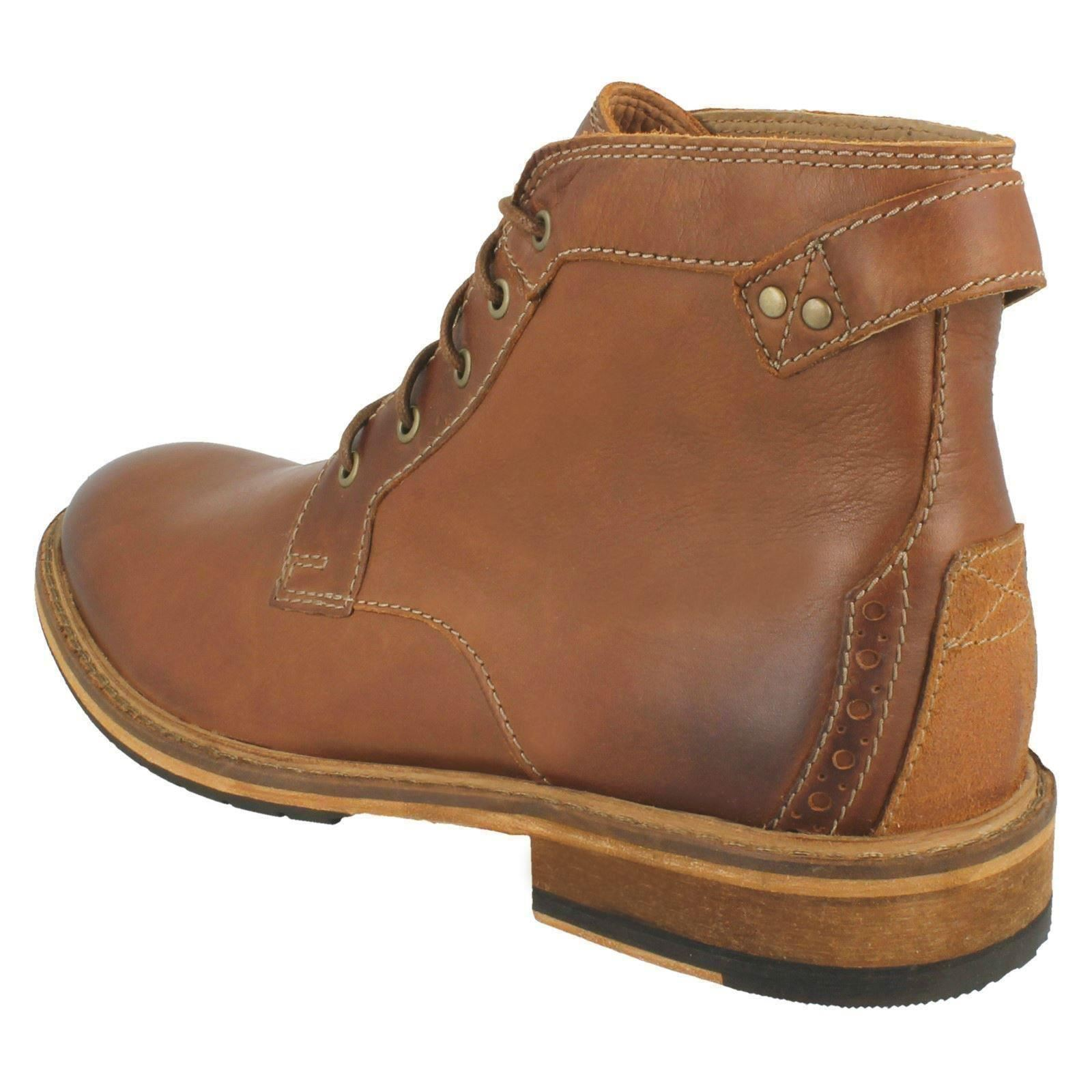 brown Tan Uomo 'clarkdale Dark Clarks Bud' Ankle stivali 0w1vZ