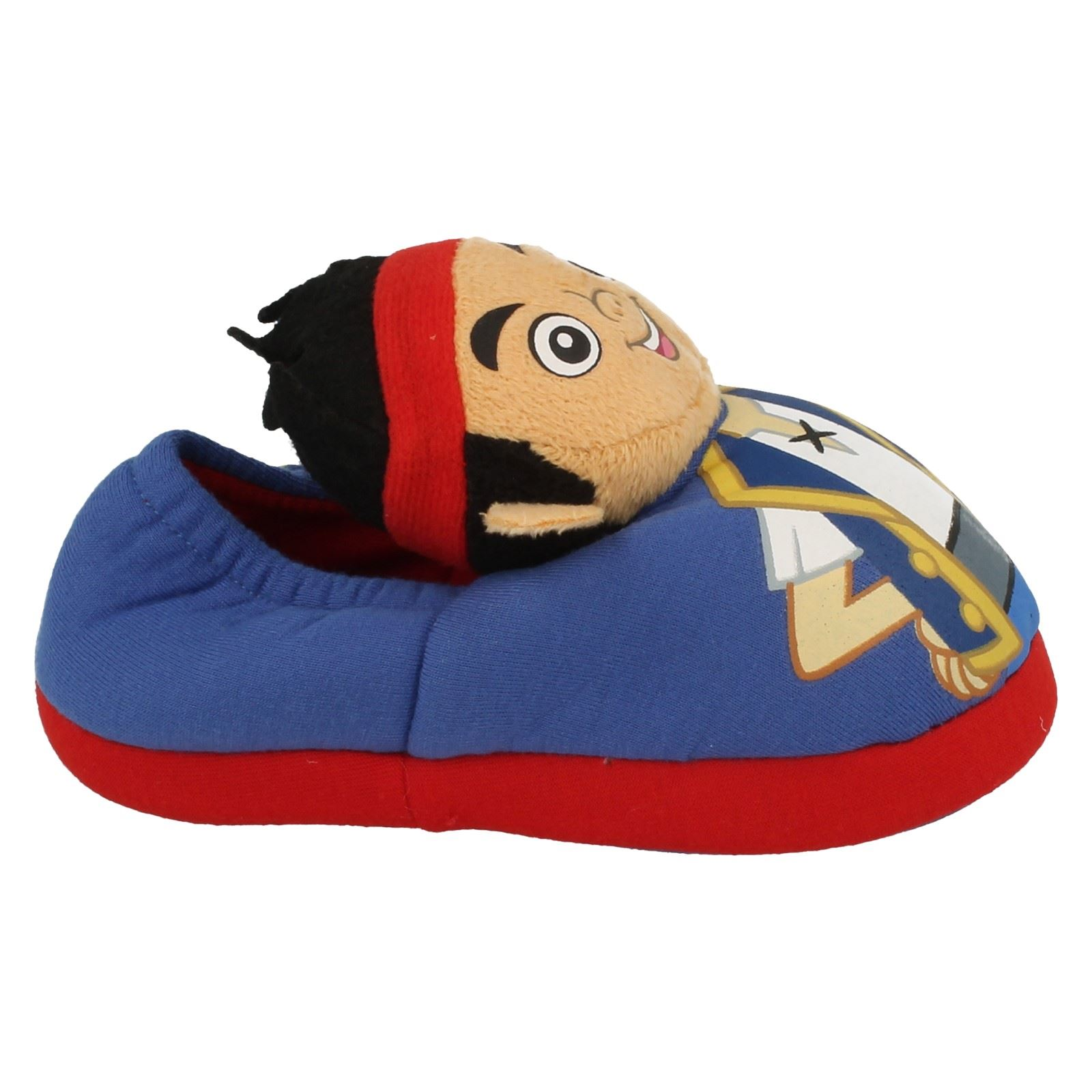 Boys Disney Slippers Jake and the Neverland Pirates