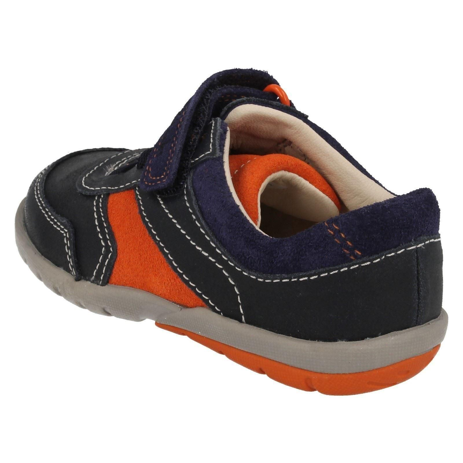Clarks Boys Leather First Shoes Softly Lee
