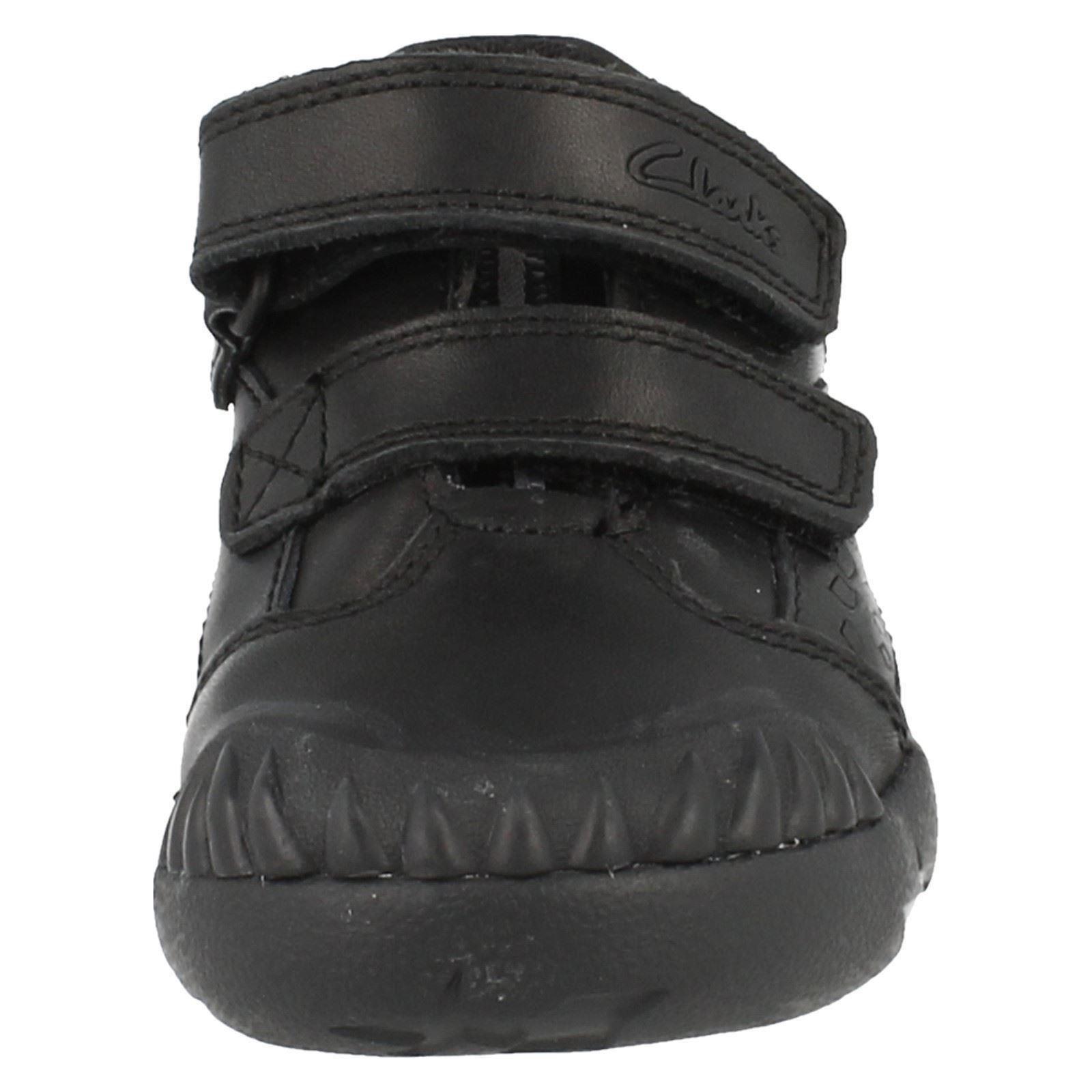 Clarks Boys Hook & Loop School Shoes Raptoboy