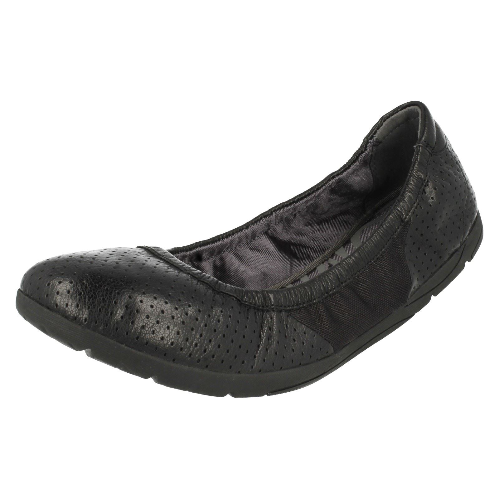 075cec2d0f7 Ladies Clarks Slip on Ballet PUMPS Illya Shine Black Leather UK 3 D. About  this product. Picture 1 of 10  Picture 2 of 10 ...