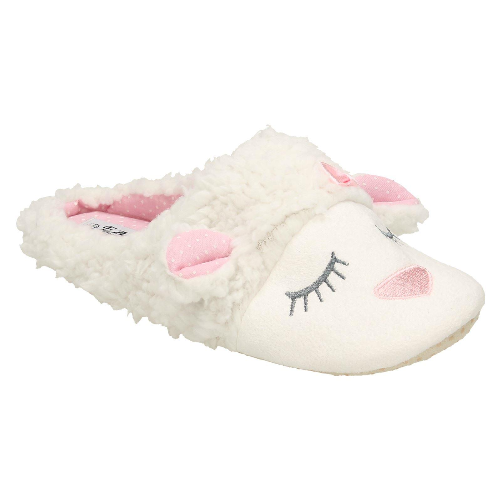 Girls Eaze /'Sheep/' Slippers