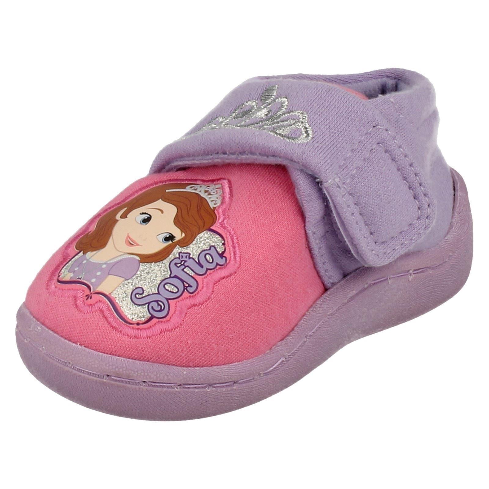 Zapatillas de caracteres Infantil Chicas Disney Sofía La Primera Corona