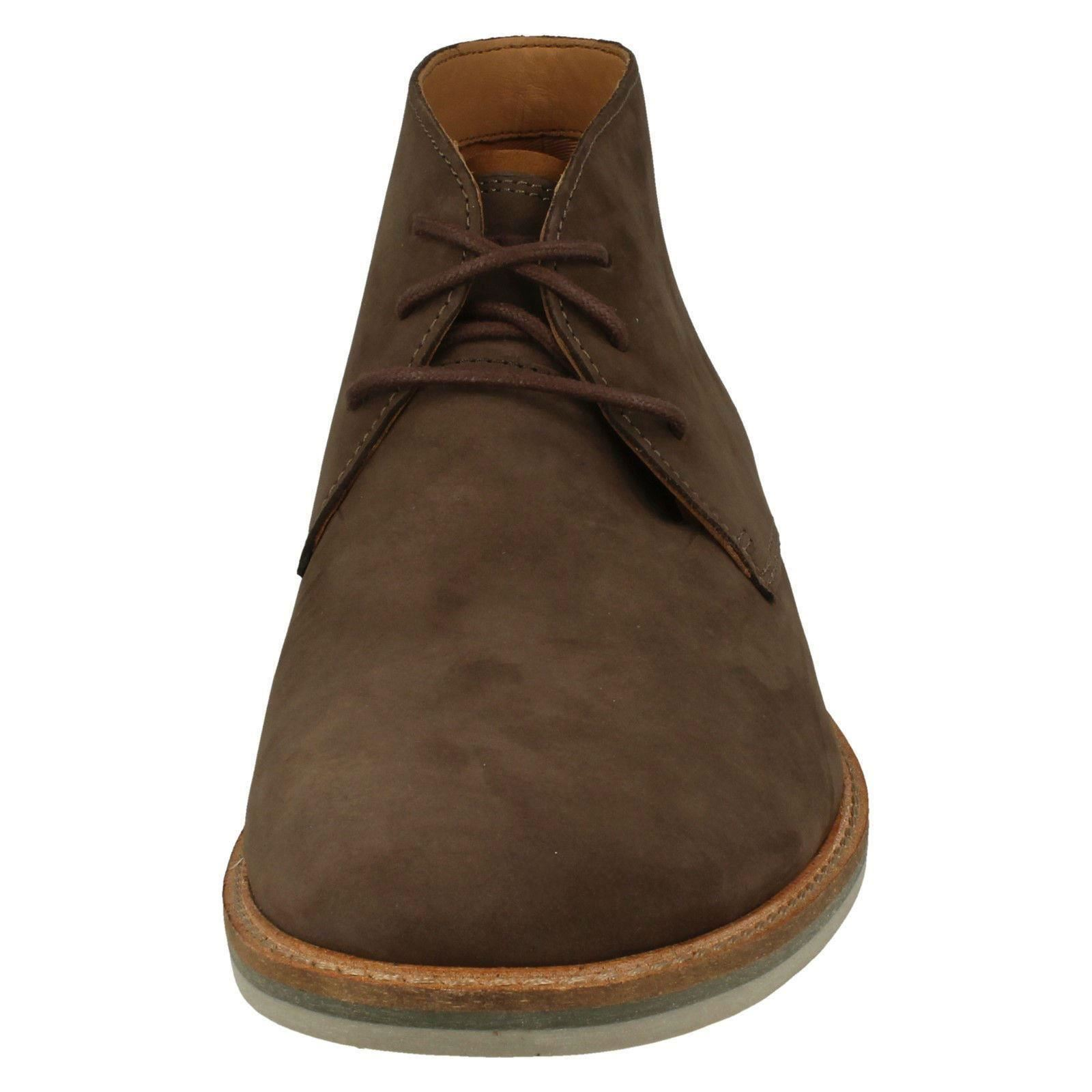 Clarks Mens Casual Ankle Boots - Atticus Limit