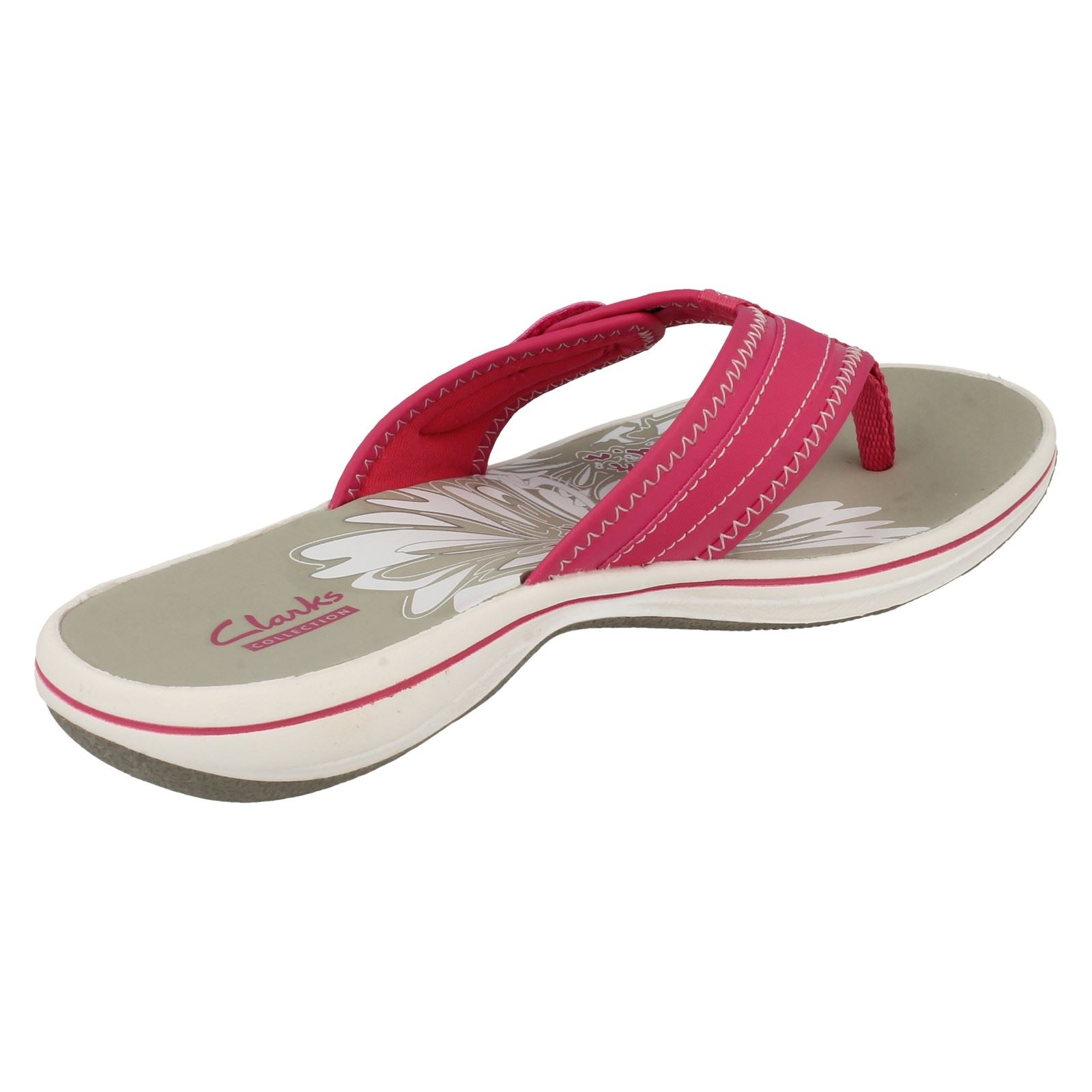 05aac59d3 Ladies-Clarks-Brinkley-Mila-Toe-Post-Sandals thumbnail 6