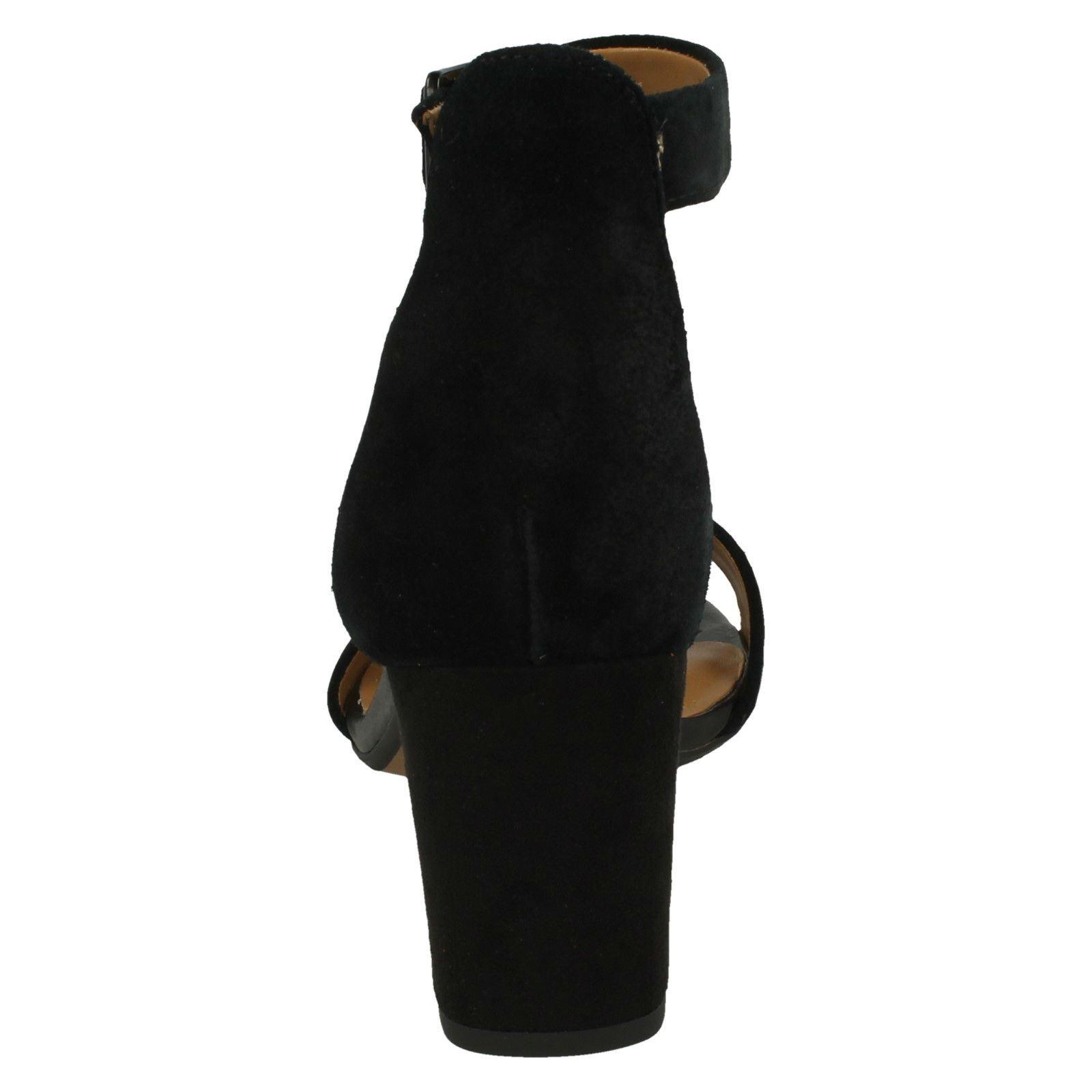 Ladies Clarks Stylish Block Heeled Sandals Deva Mae