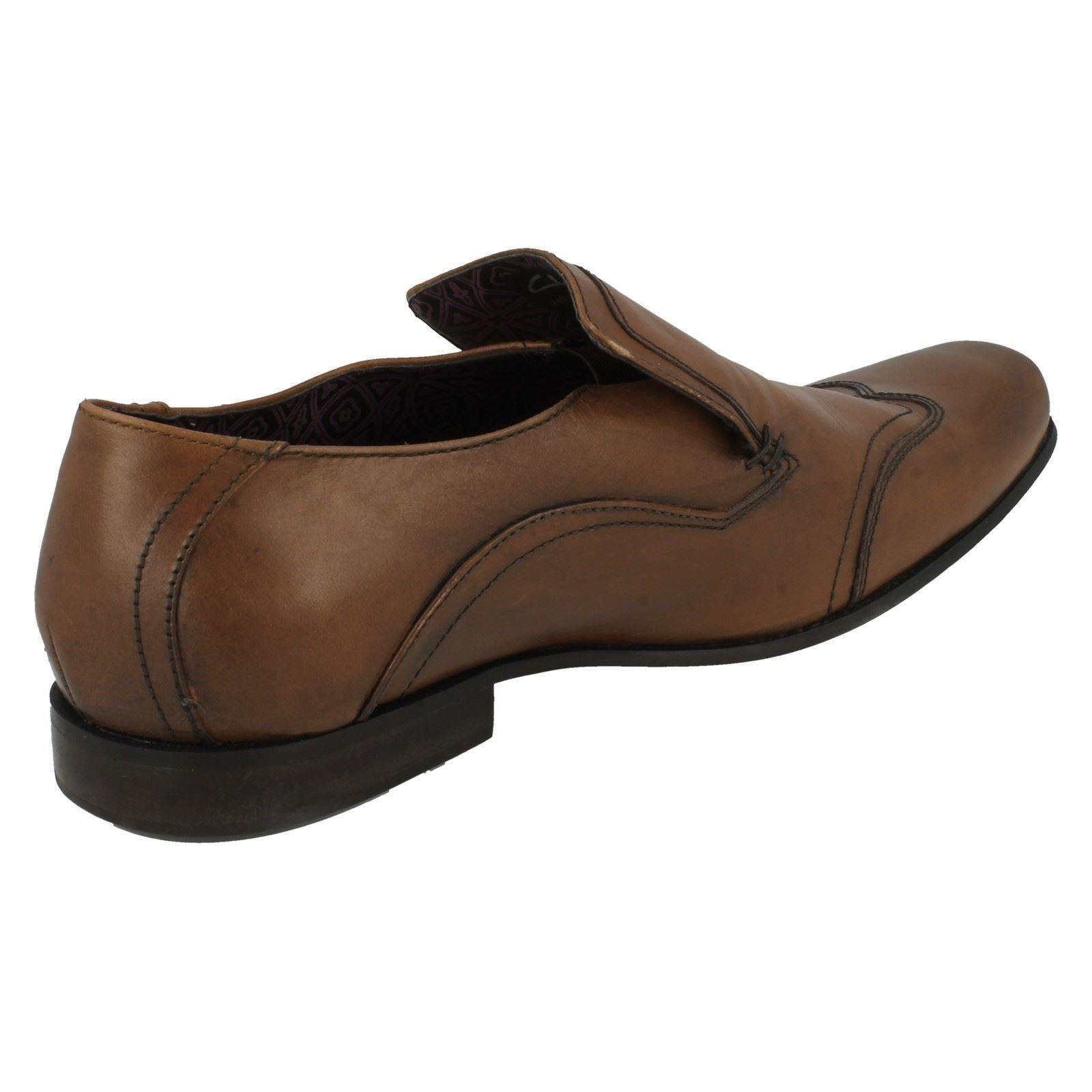 Formal in 'fiction Shoes pelle Clip' tabacco di Clarks Slip On Mens 7qwTPxx
