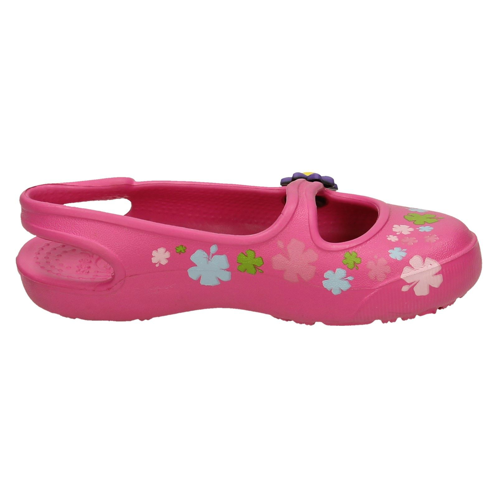 eb537b43ef96 Crocs-Girls-Slip-On-Sandals-Gabby-Flowers thumbnail 9
