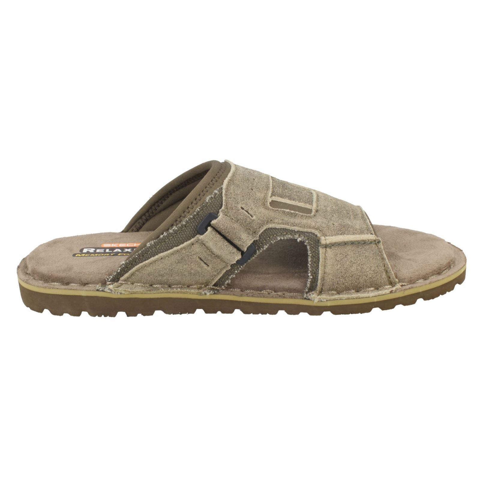 8bc61db69e83 Mens-Skechers-Memory-Foam-Sandals-Golson-64148 thumbnail 16