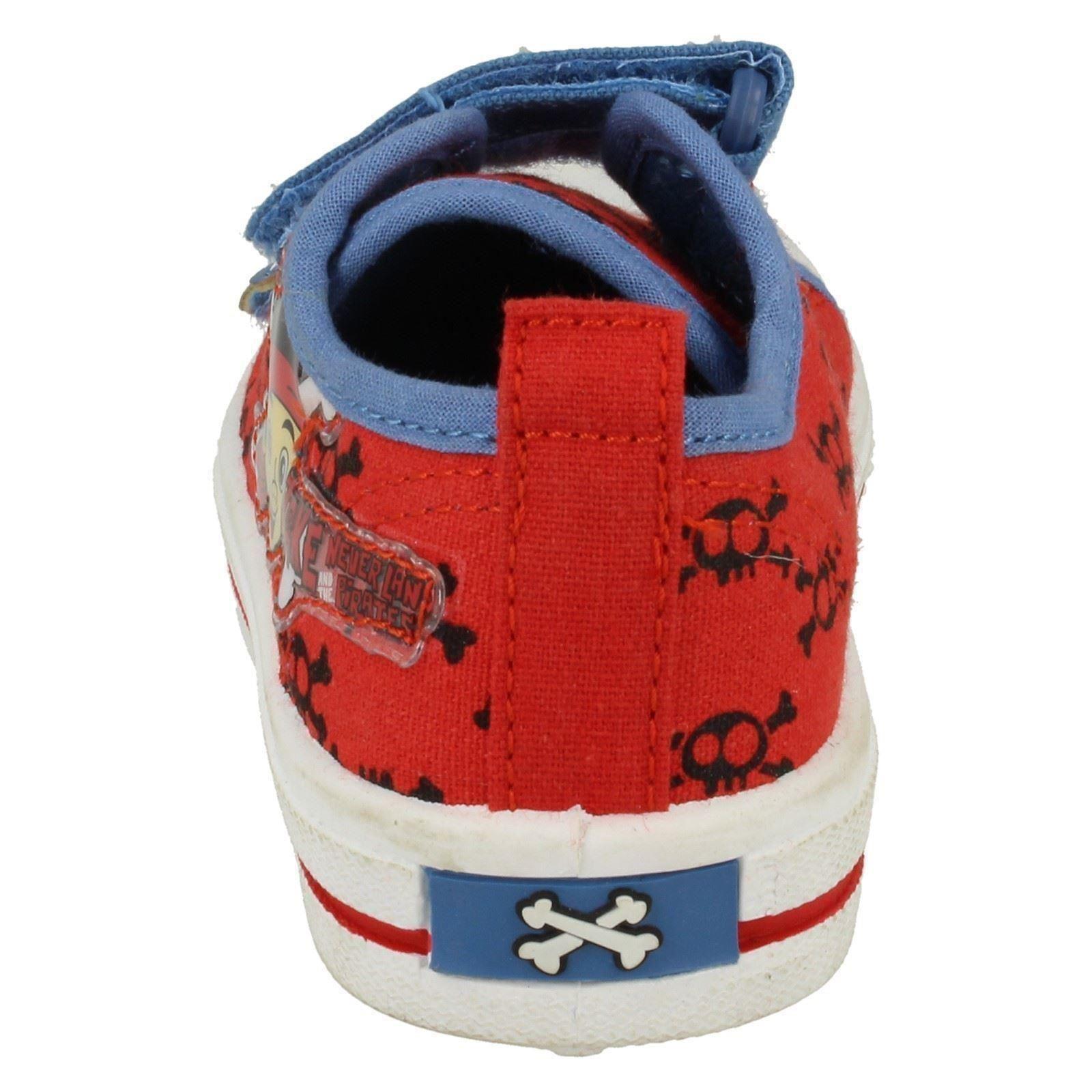 Chicos Disney Jake Y Los Nunca Land Piratas Crossbone Zapato De Lona