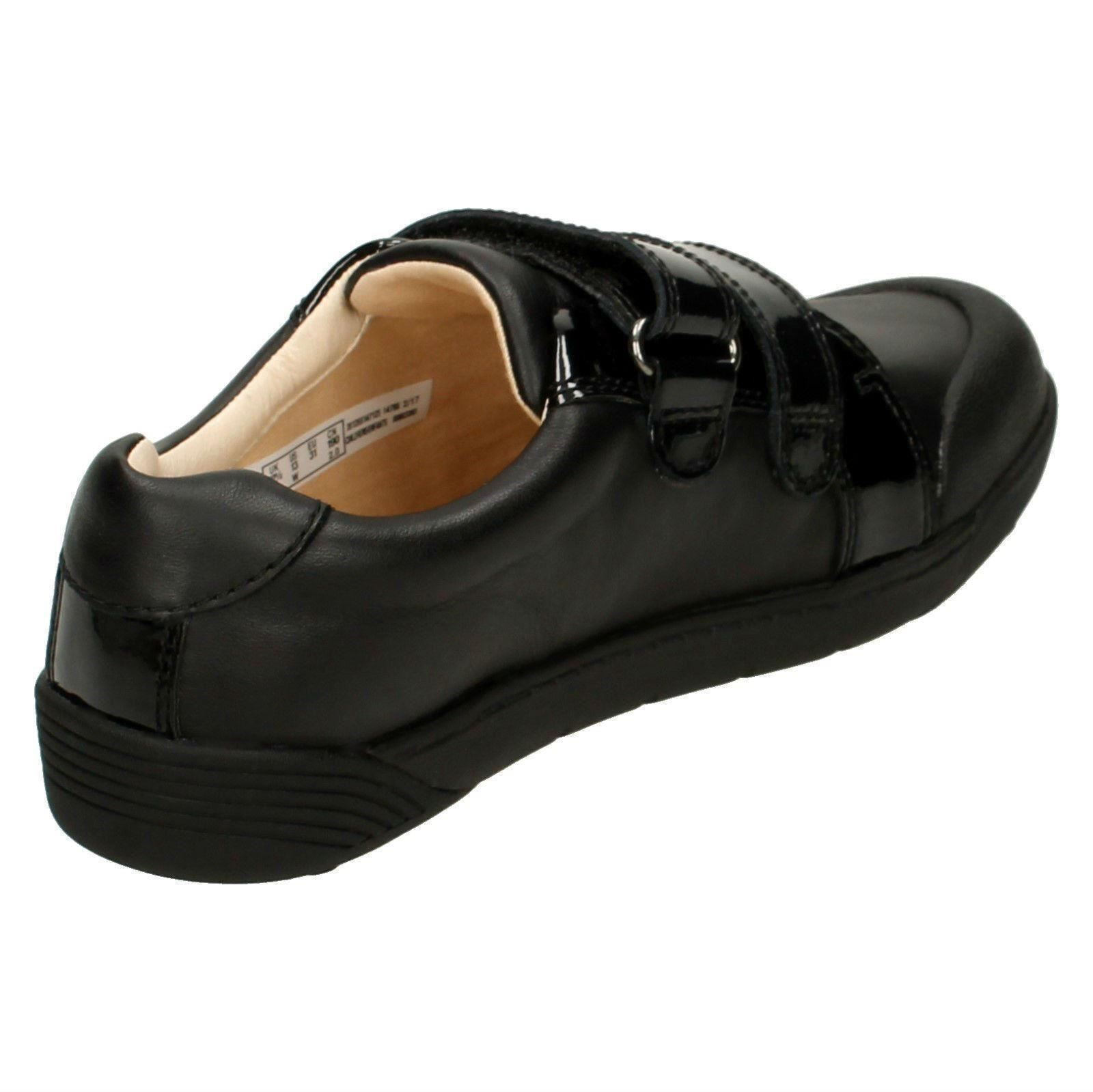 Chicas Clarks Zapatos Escolares inteligente Lil Folk Bel