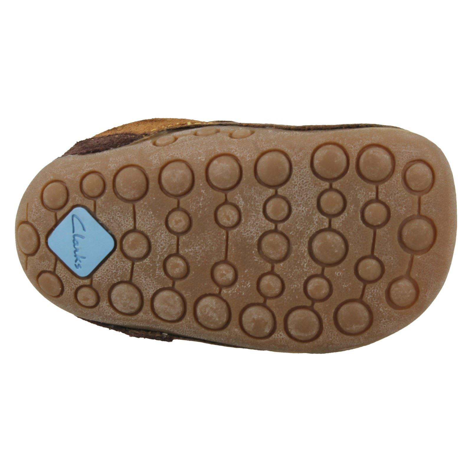 marrón Combi Primeros Clarks Chicos Tiny zapatos Seb marrón xp07vXqwv