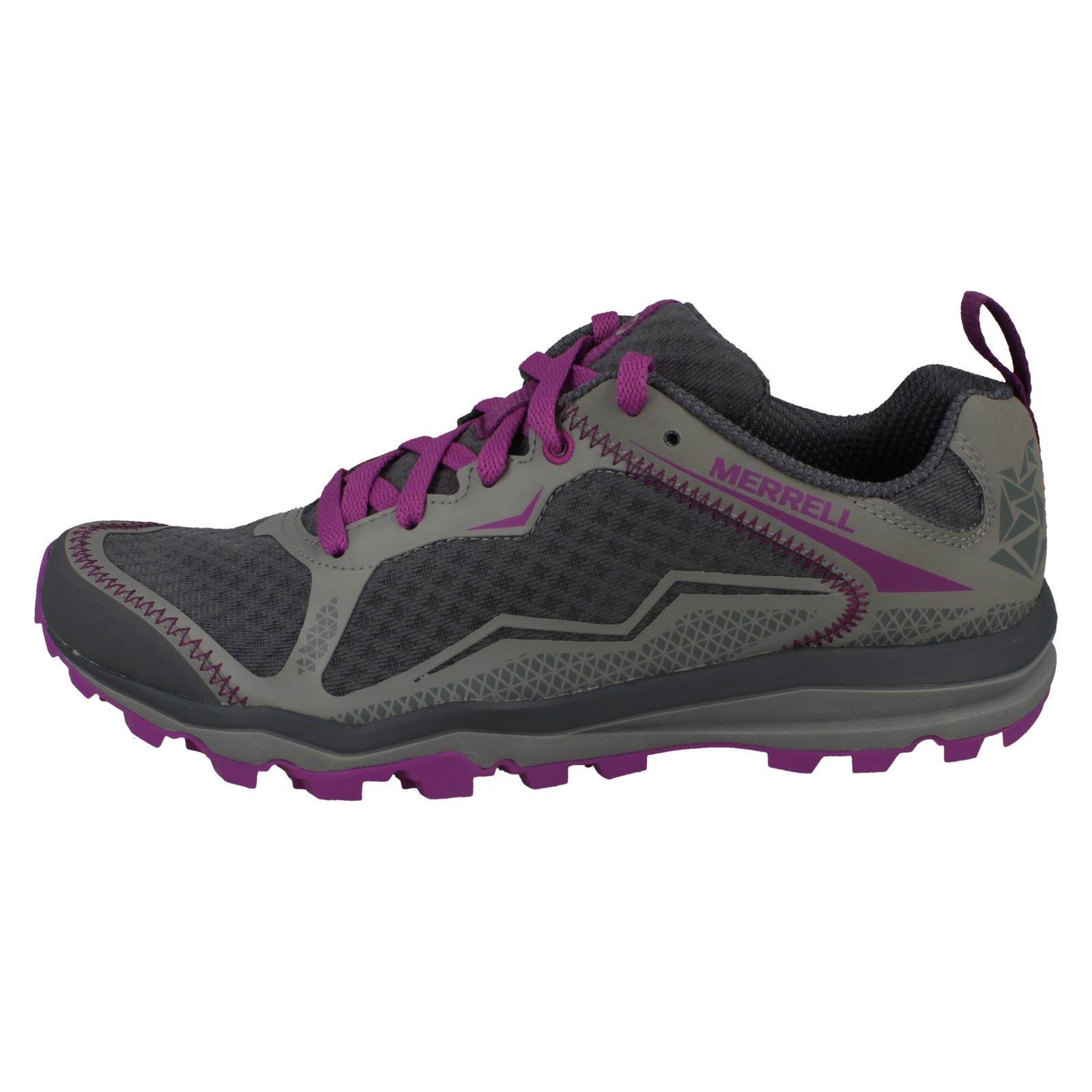 Ladies All Out Crush Light Light Weight Running Trainers By Merrell £39.00