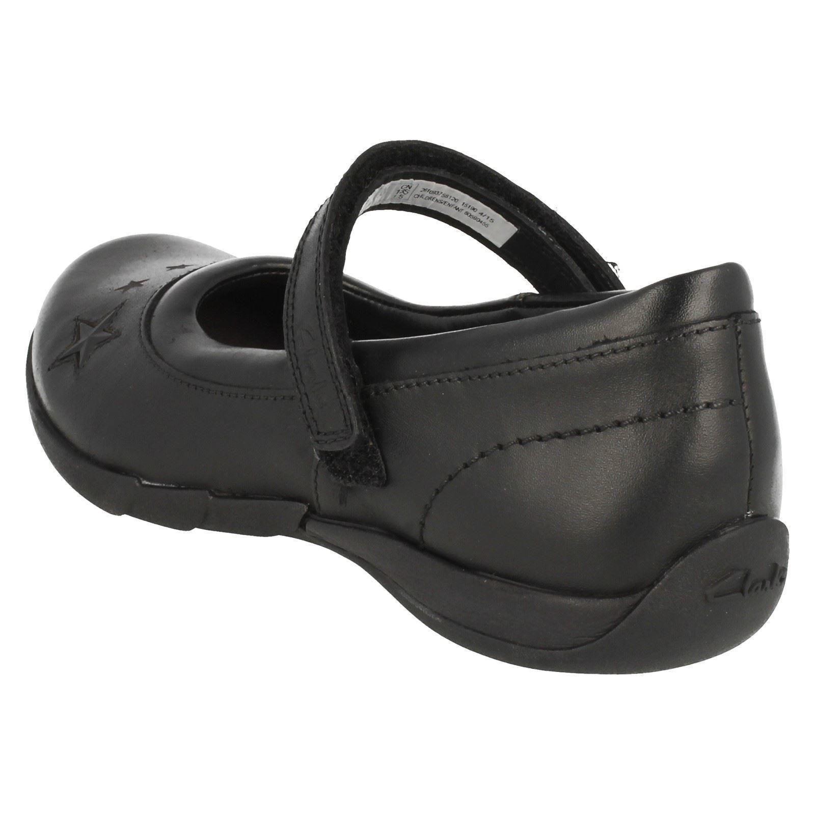 Clarks Jo Formal niñas Black para Zapatos School Lexie dYwxW1