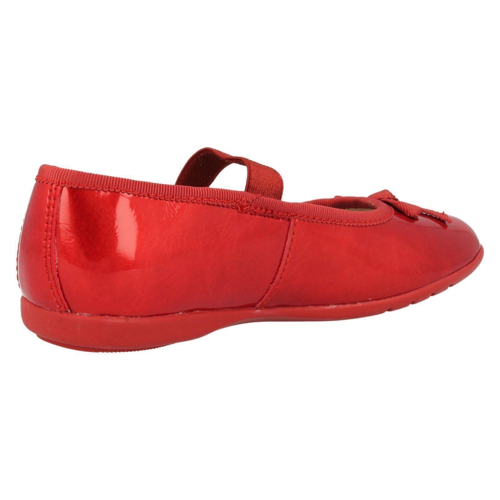 Chicas Clarks Zapatos ropa de ocasión brillo de la danza
