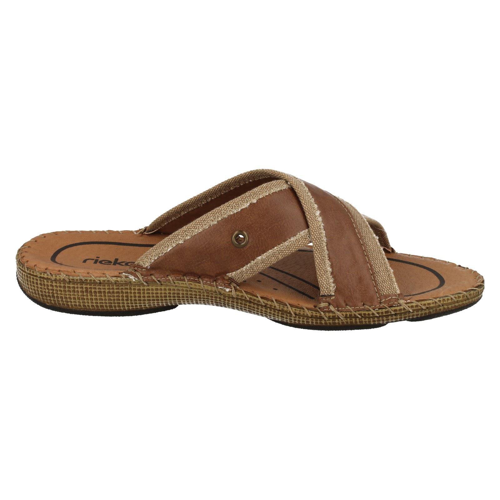 Mens Rieker Slip On Sandals '20554' '20554' Sandals 959046
