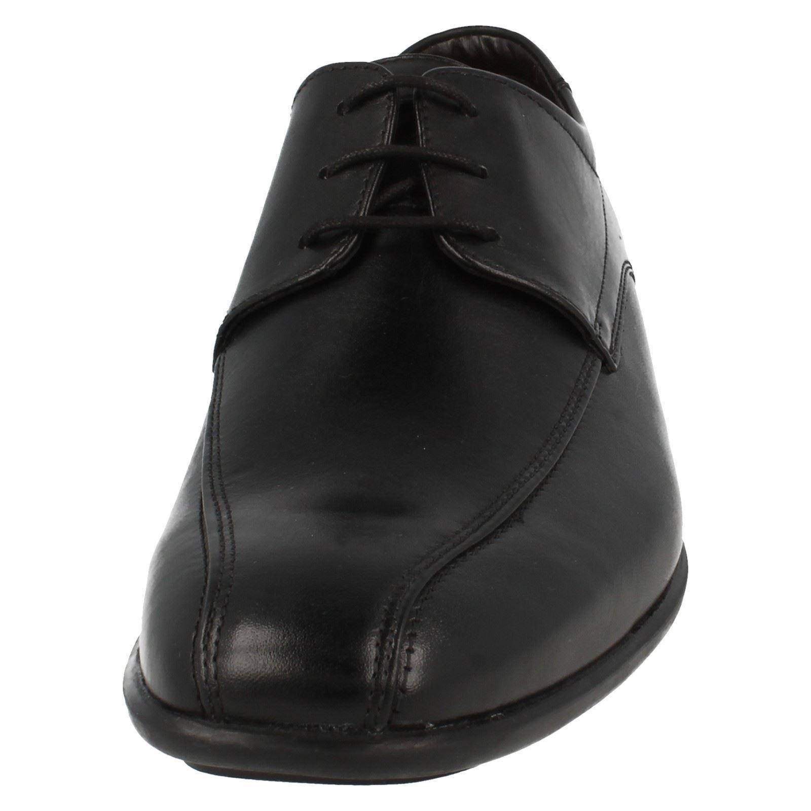 cordones para zapatos gadwell negro sobre hombre Clarks con wtFqga66