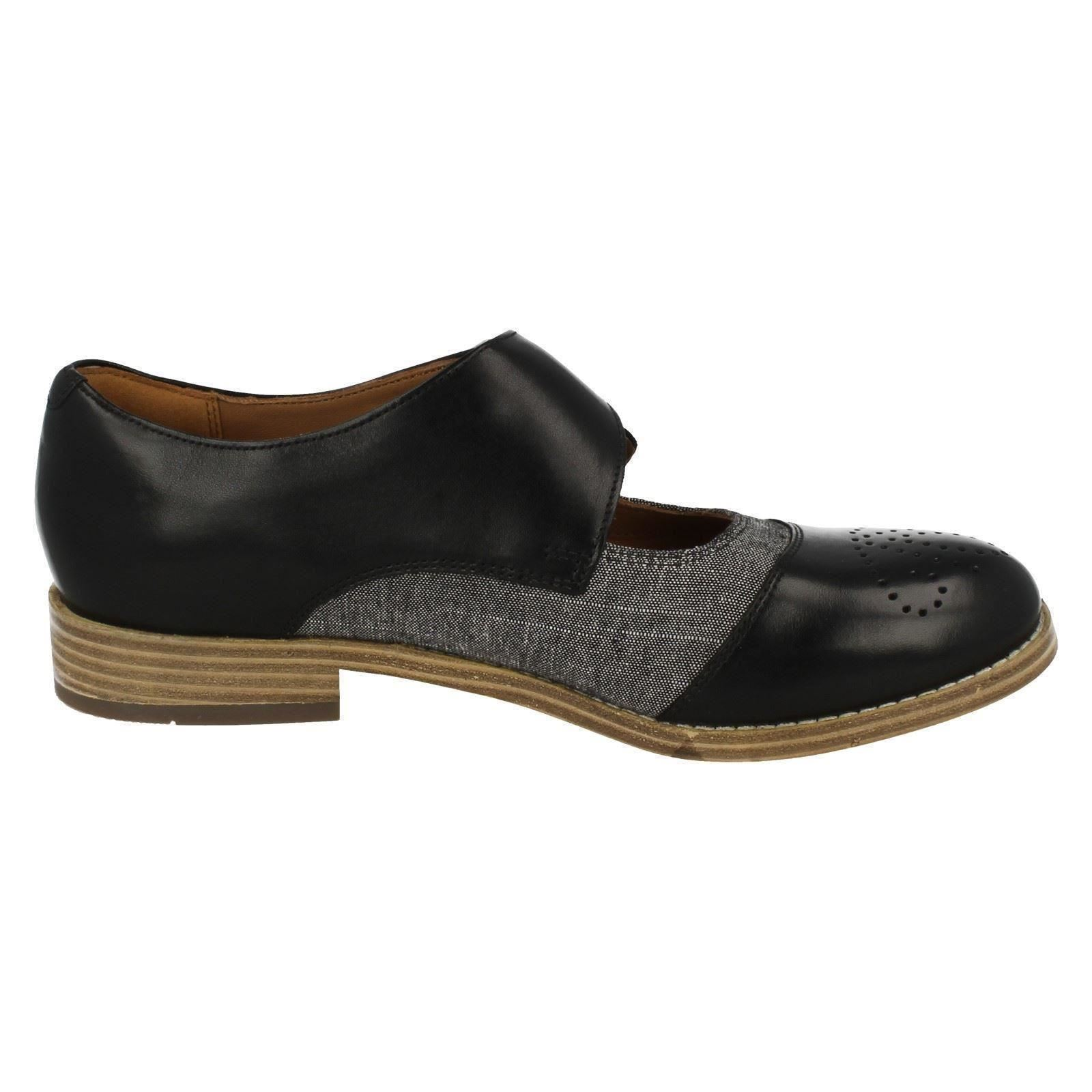 Ladies-Clarks-Smart-Casual-Monk-Style-Shoes-Zyris-