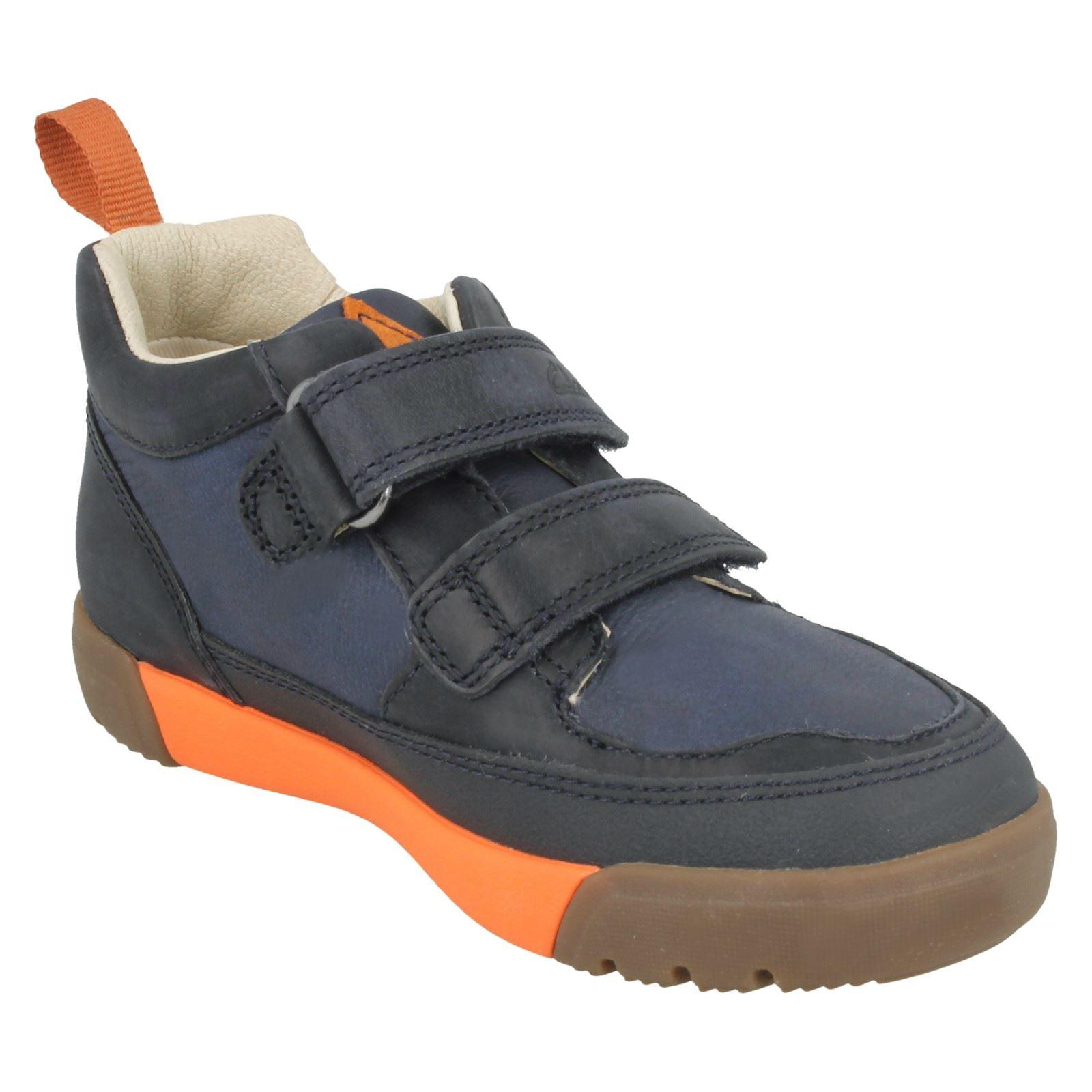 Clarks-Muchachos-Informales-Zapatillas-Lil-Folk-Salto