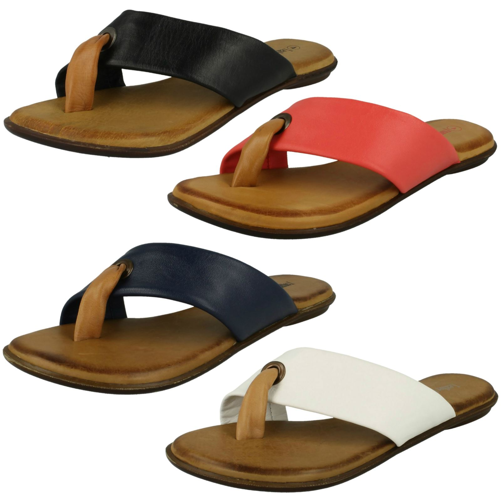 Ladies Toe Leather Collection Toe Ladies Post Summer Sandals *0929* 308cb4