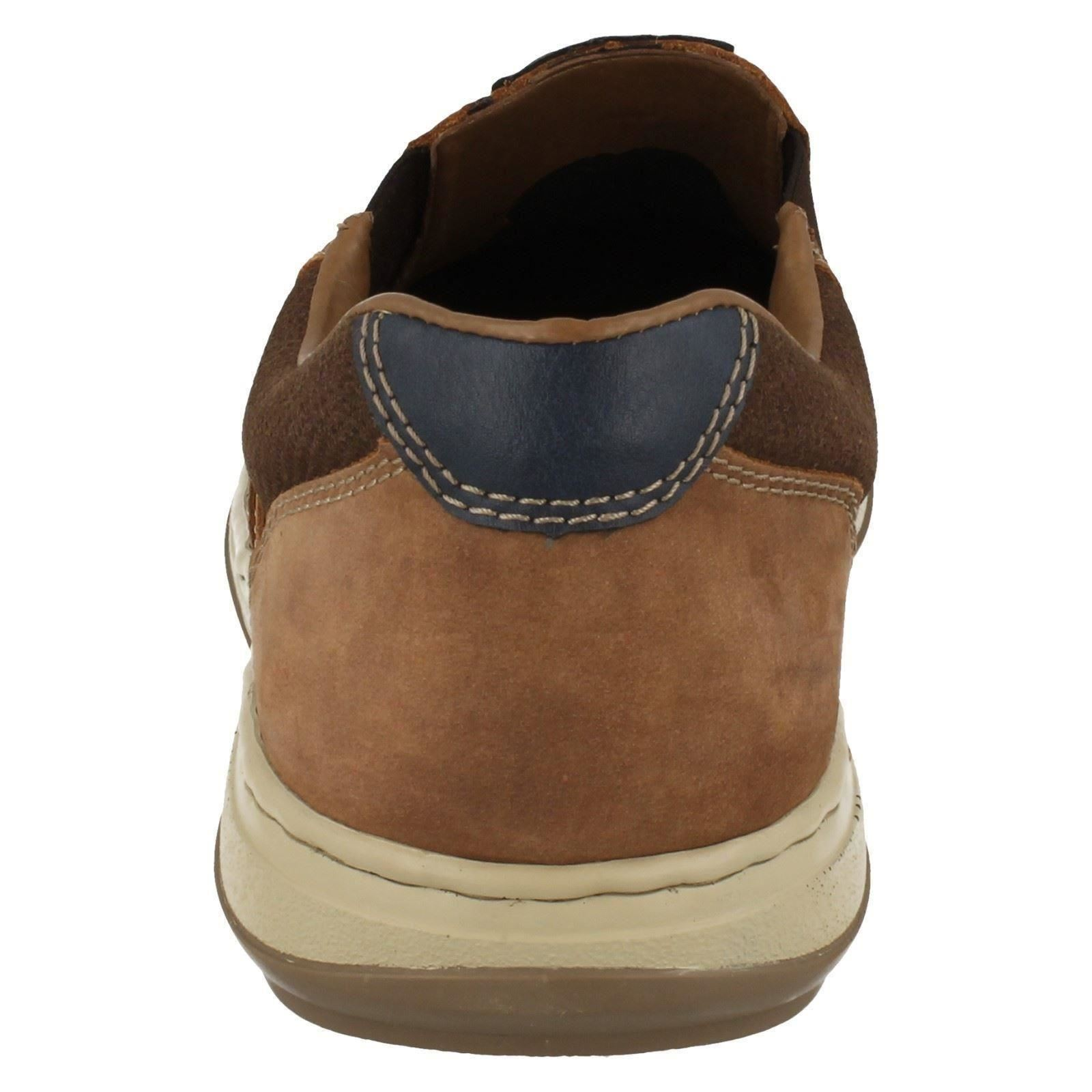 Style Moccasin Rieker brown On Slip Combi 17367 Shoes Mens Brown qSEg55