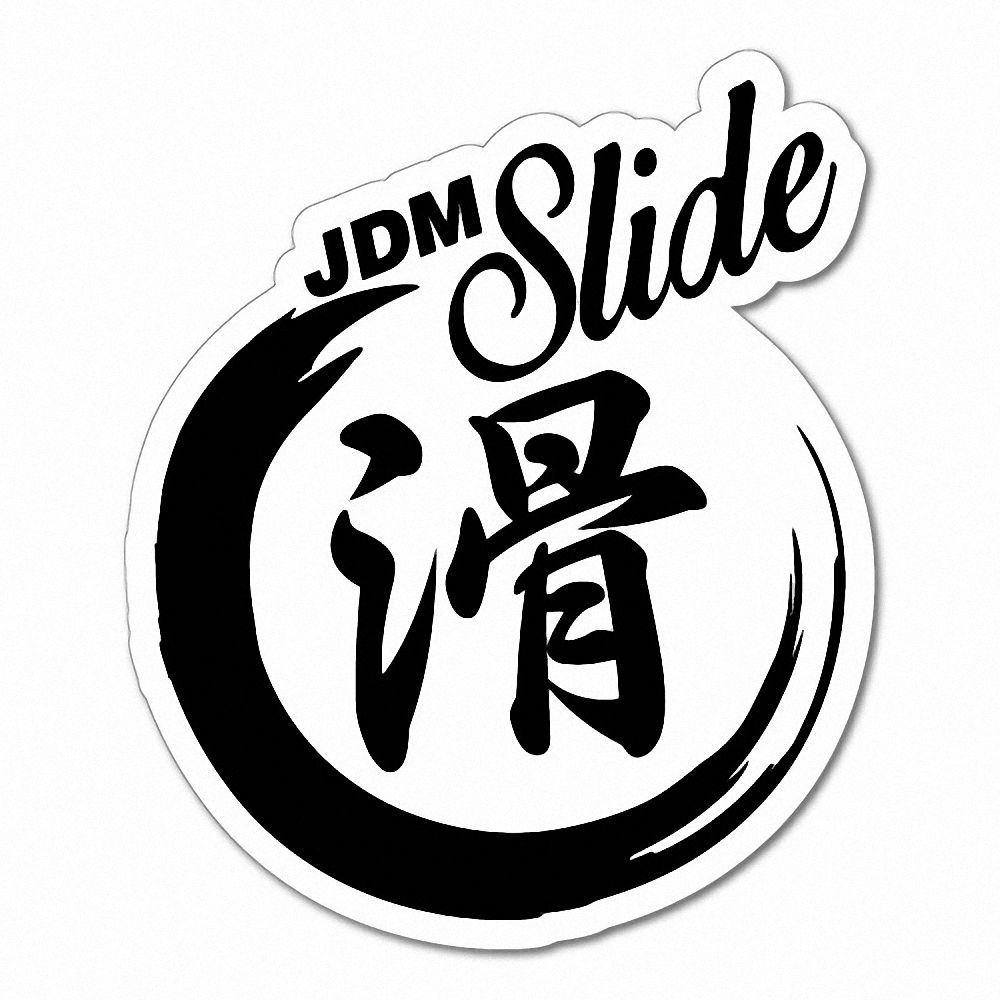 SLIDE JAPANESE KANJI JDM DRIFT Sticker Decal JDM Car Drift ...