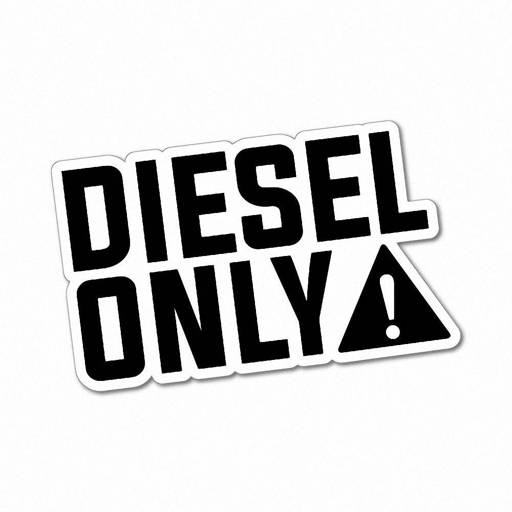 diesel only sticker decal 4x4 4wd funny ute  6100en