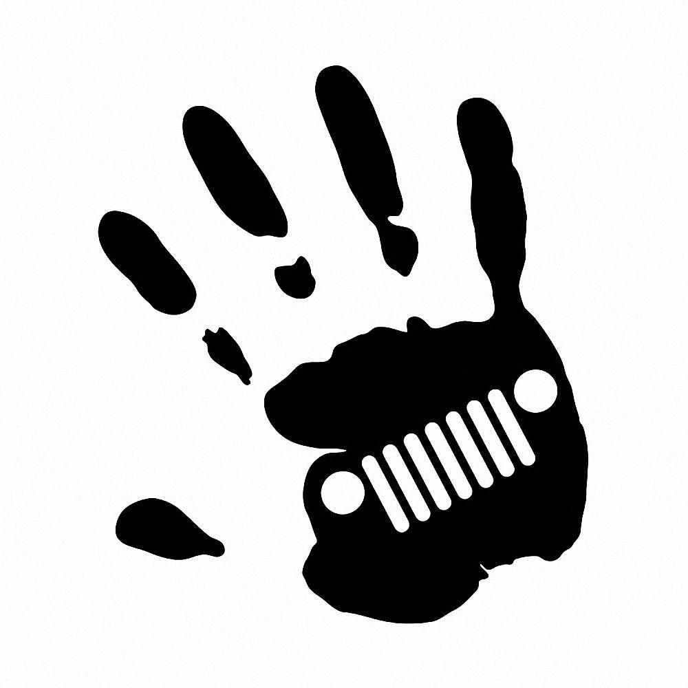 Jeep Wave Vinyl Sticker //Decal Buy 2 Get 3rd Free