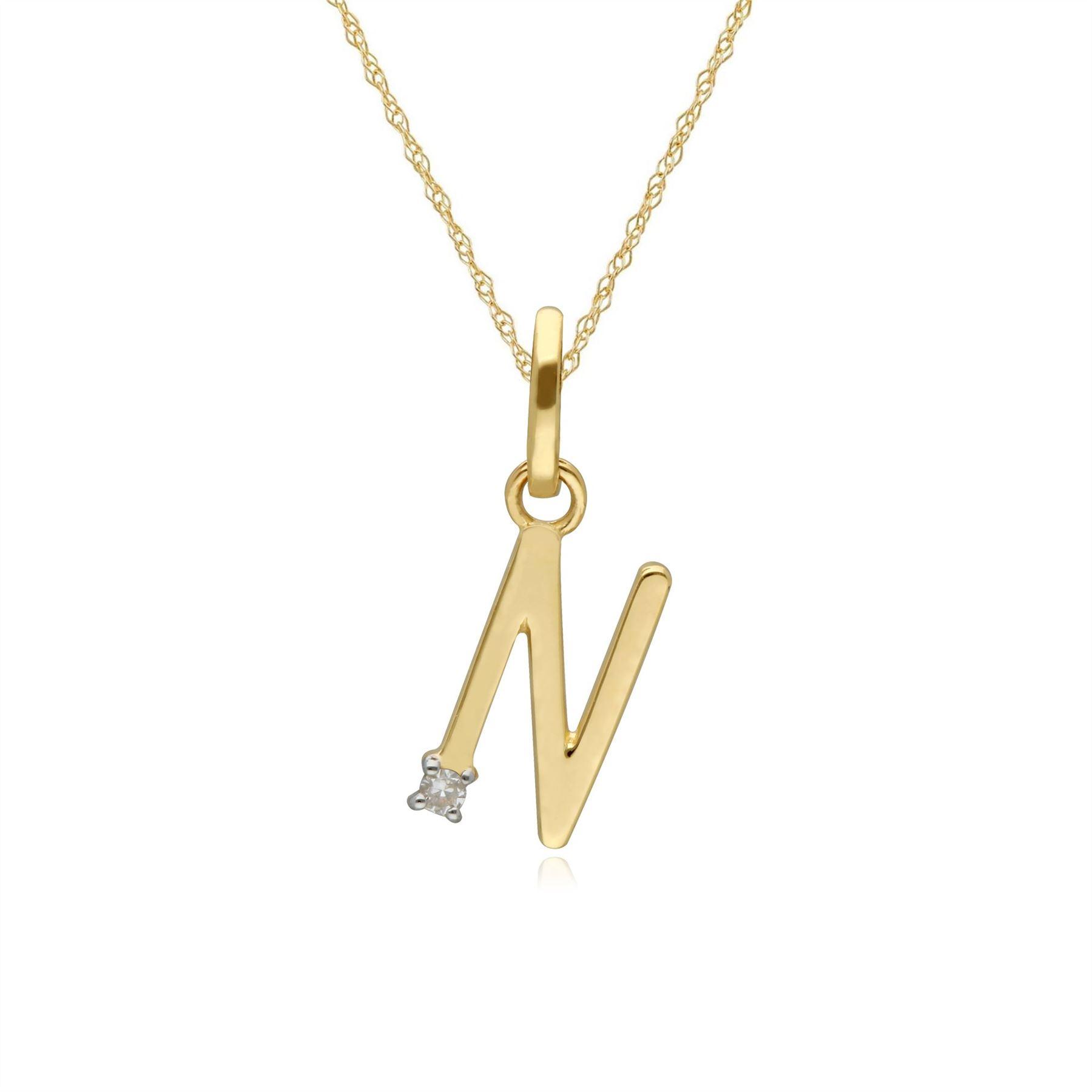 9ct Yellow Gold 0.63ct Natural Emerald /& Diamond Pendant on Chain
