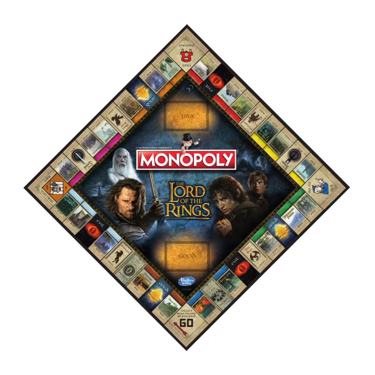 lord of the rings trivial pursuit instructions