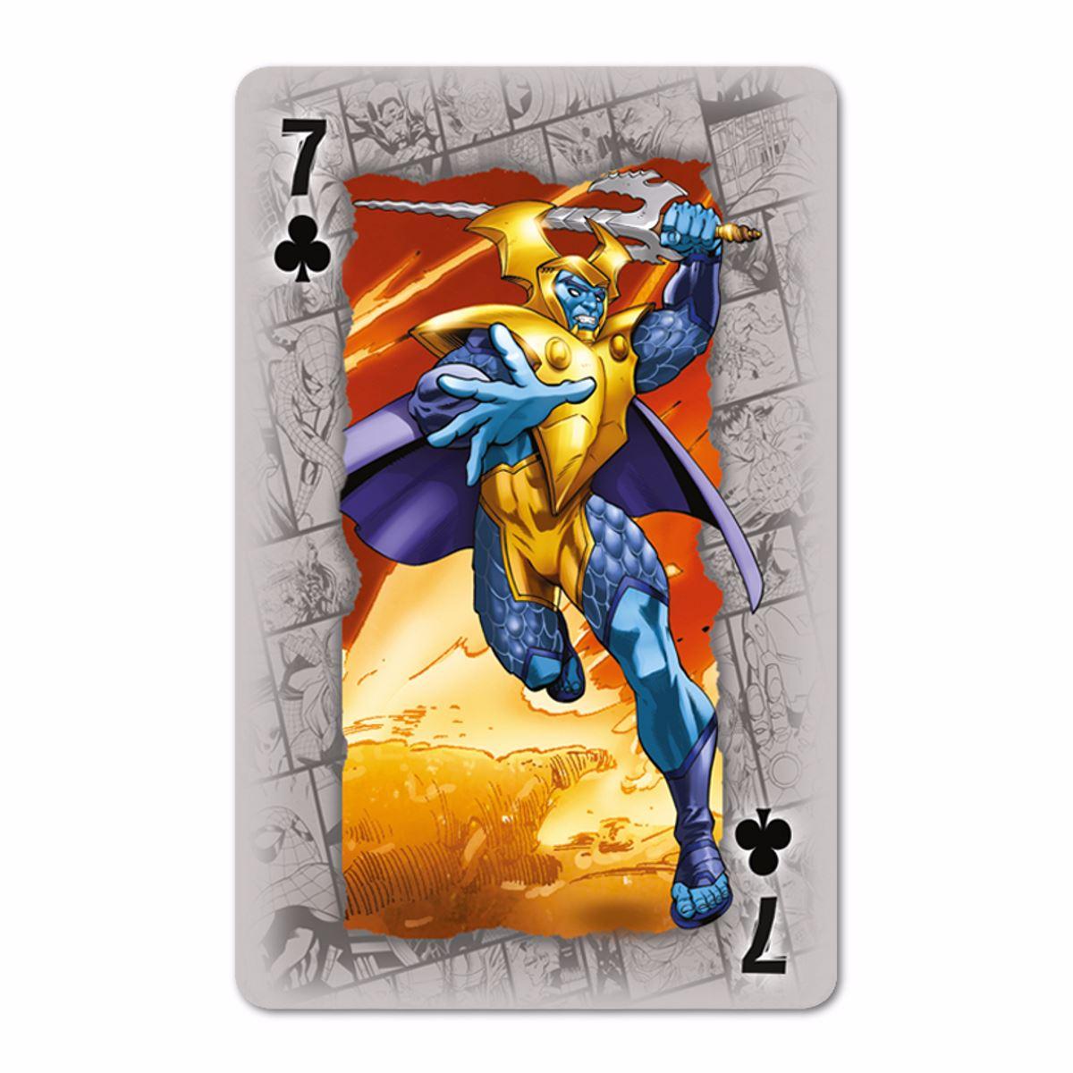 1 Playing Cards Marvel Universe Waddingtons No