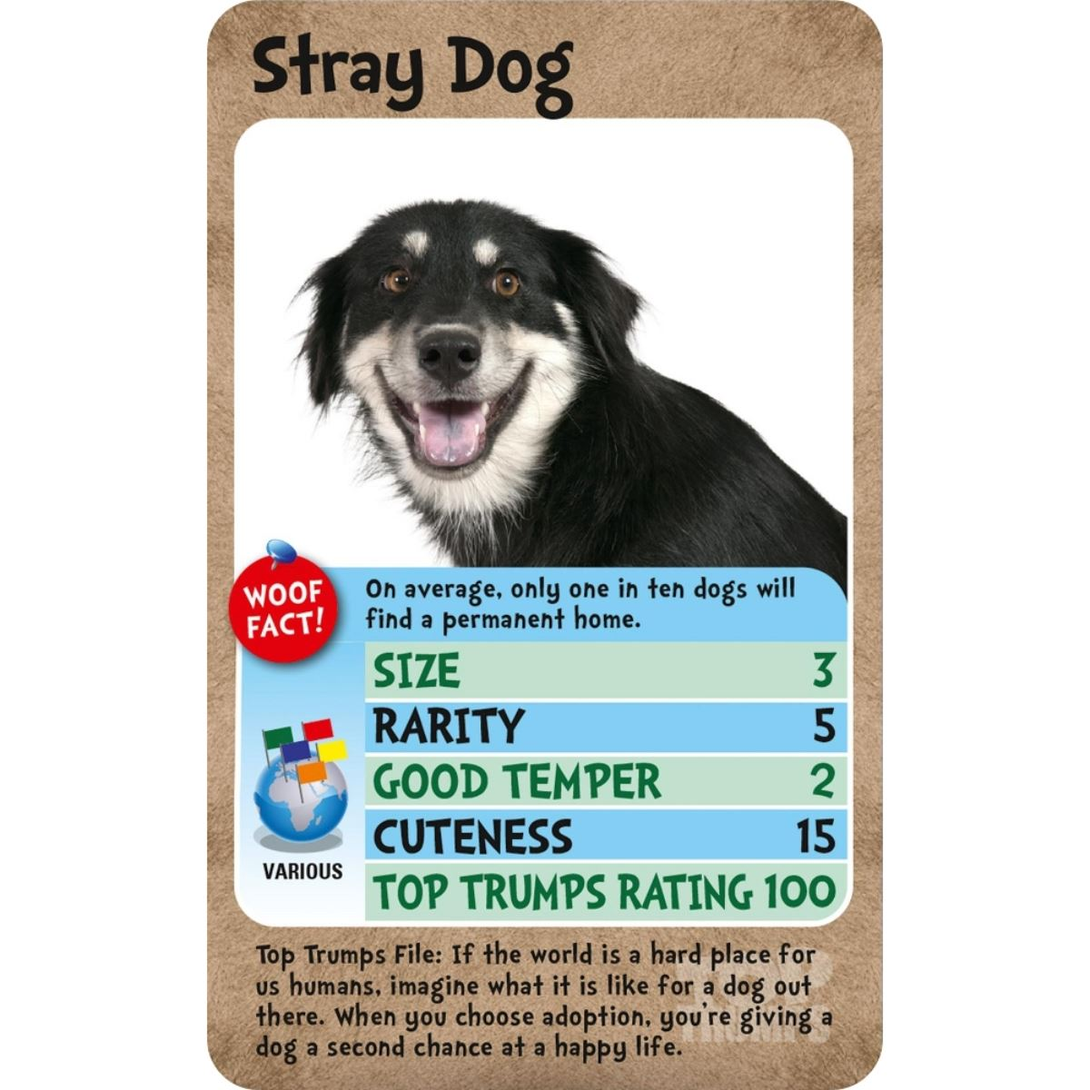 Dogs Top Trumps Card Game