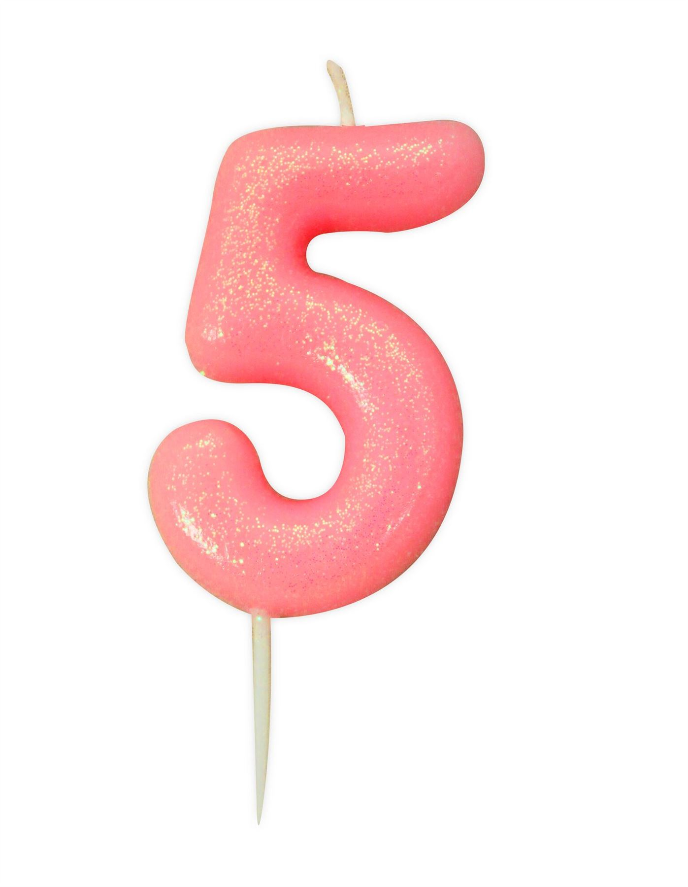 Pink-Glitter-Cake-Candles-Age-Milestone-Birthday-Party-Decorations-Topper-Girls thumbnail 7
