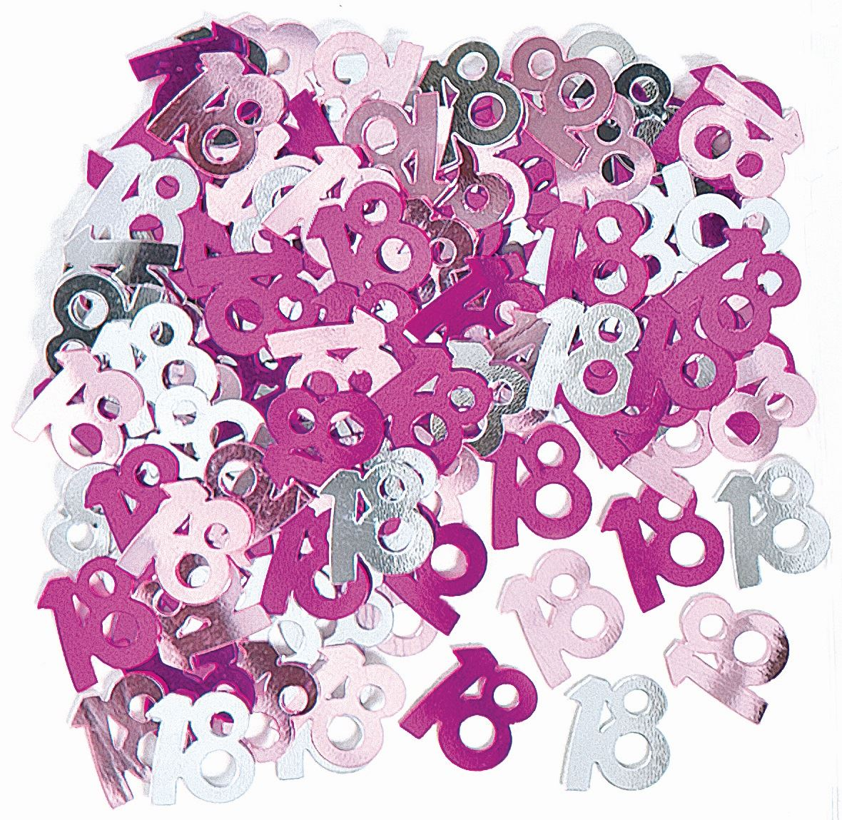 Pink Age 18 Happy 18th Birthday Party Decorations Girls