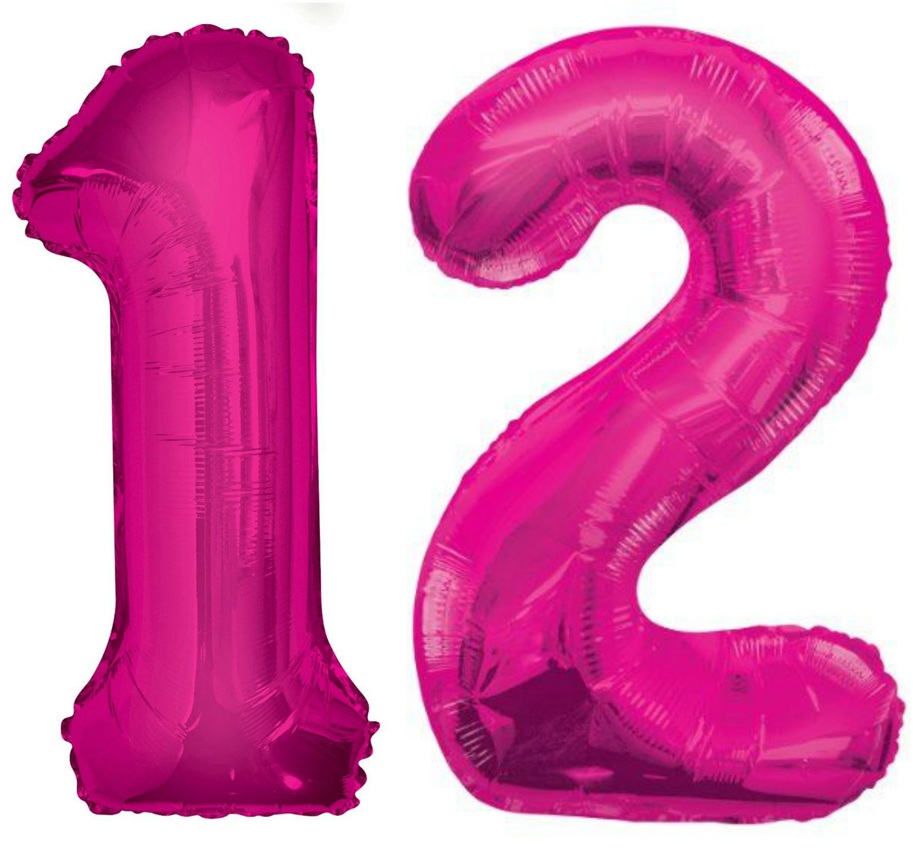 Birthday Decoration Home Giant 12th Glitz Birthday Party Number 12 Foil Helium Air