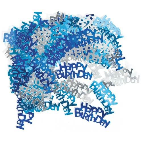 Blue Glitz Age 21 Party Decorations Silver Tableware Balloons Bunting