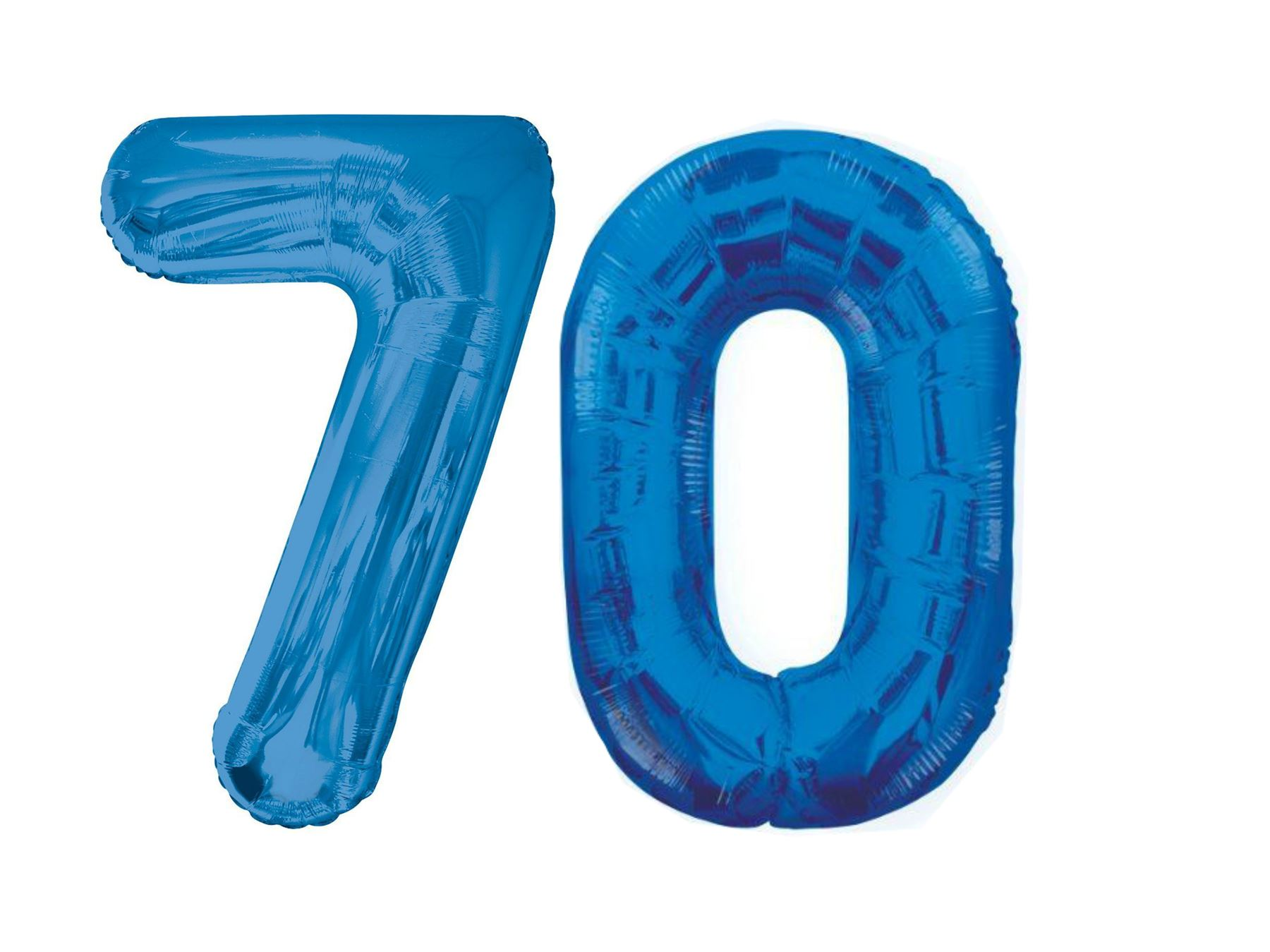 Giant 70th birthday party number 70 foil balloon helium for Decoration 70