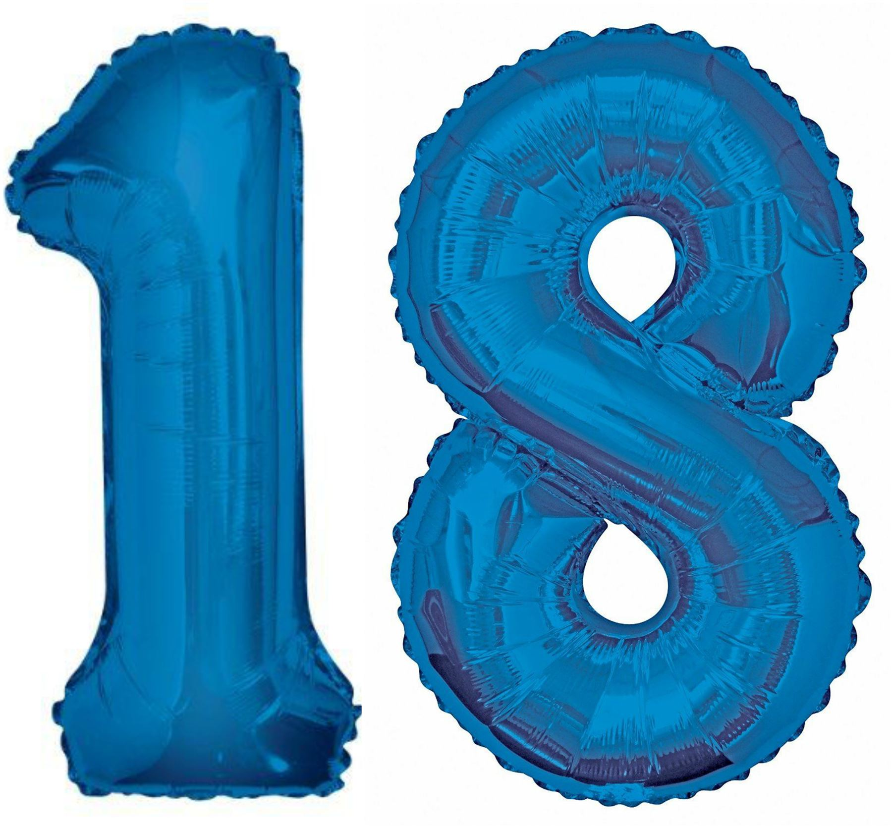 giant 18th birthday party number 18 foil balloon helium air decoration age 18