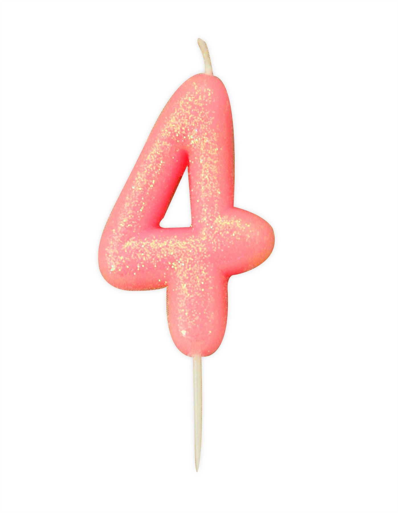 Pink-Glitter-Cake-Candles-Age-Milestone-Birthday-Party-Decorations-Topper-Girls thumbnail 6