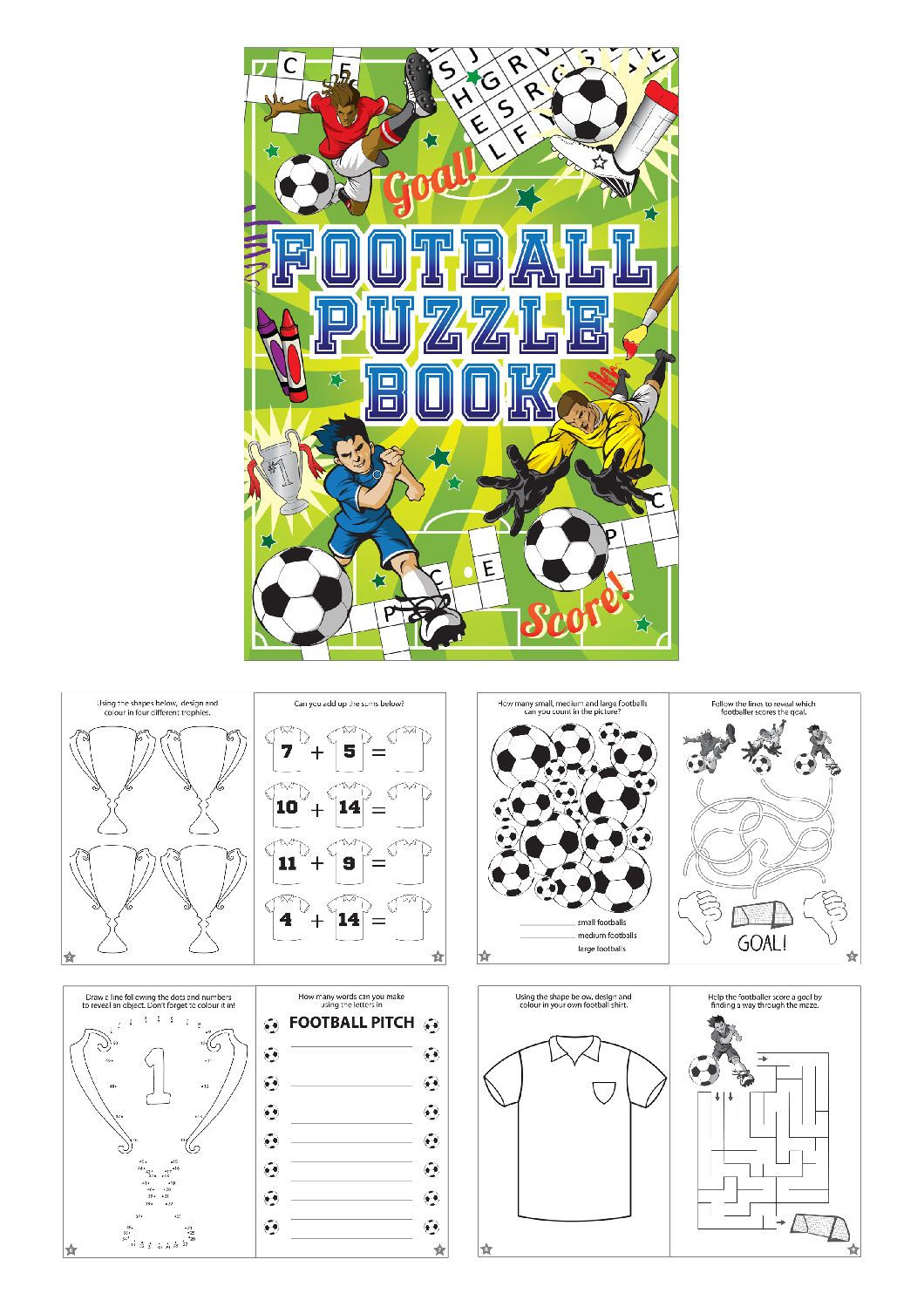 Childrens-Puzzle-Books-Loot-Party-Bag-Fillers-Birthday-Gift-Wedding-Lucky-Dip thumbnail 3